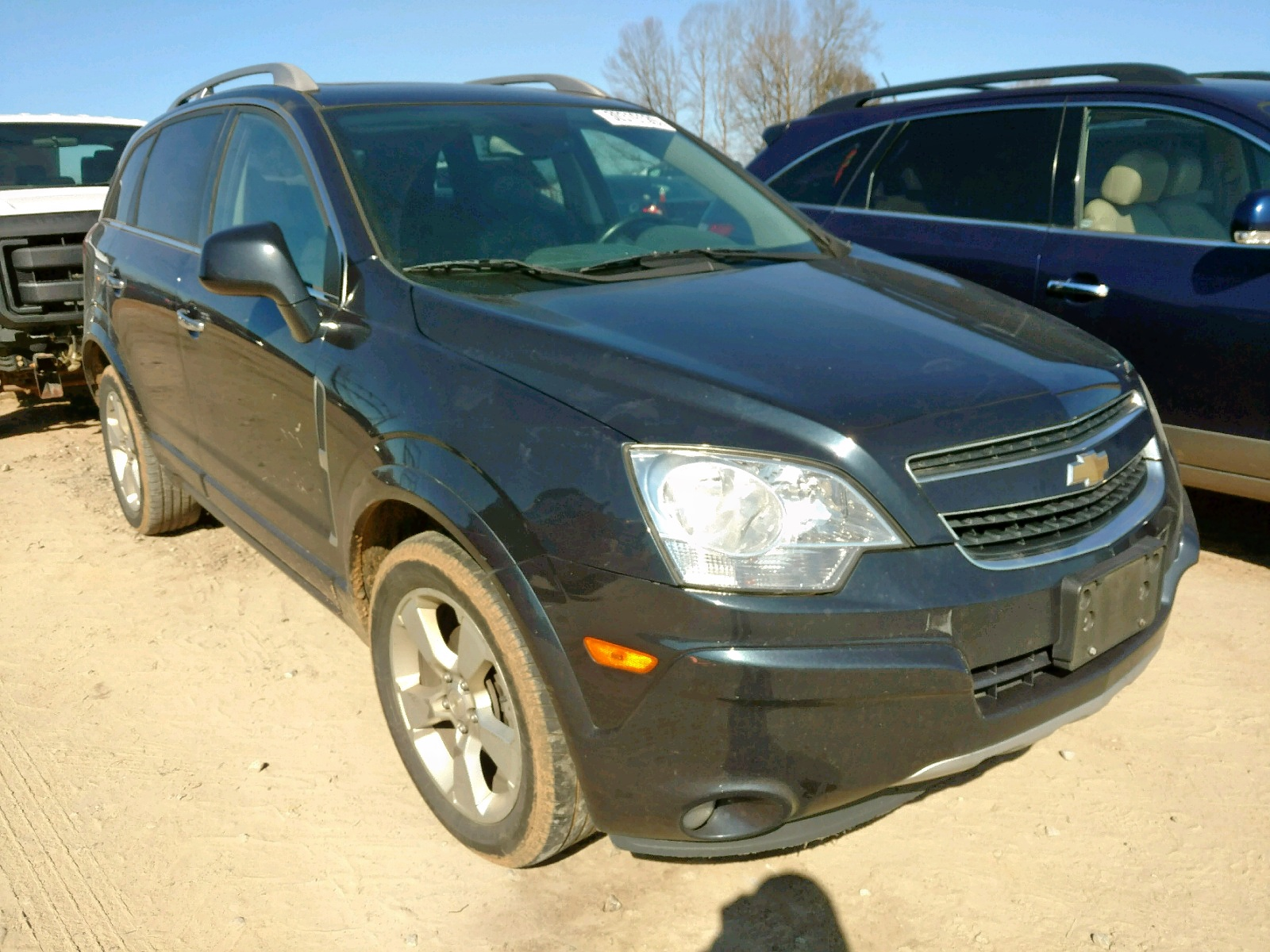 Salvage 2014 Chevrolet CAPTIVA LT for sale