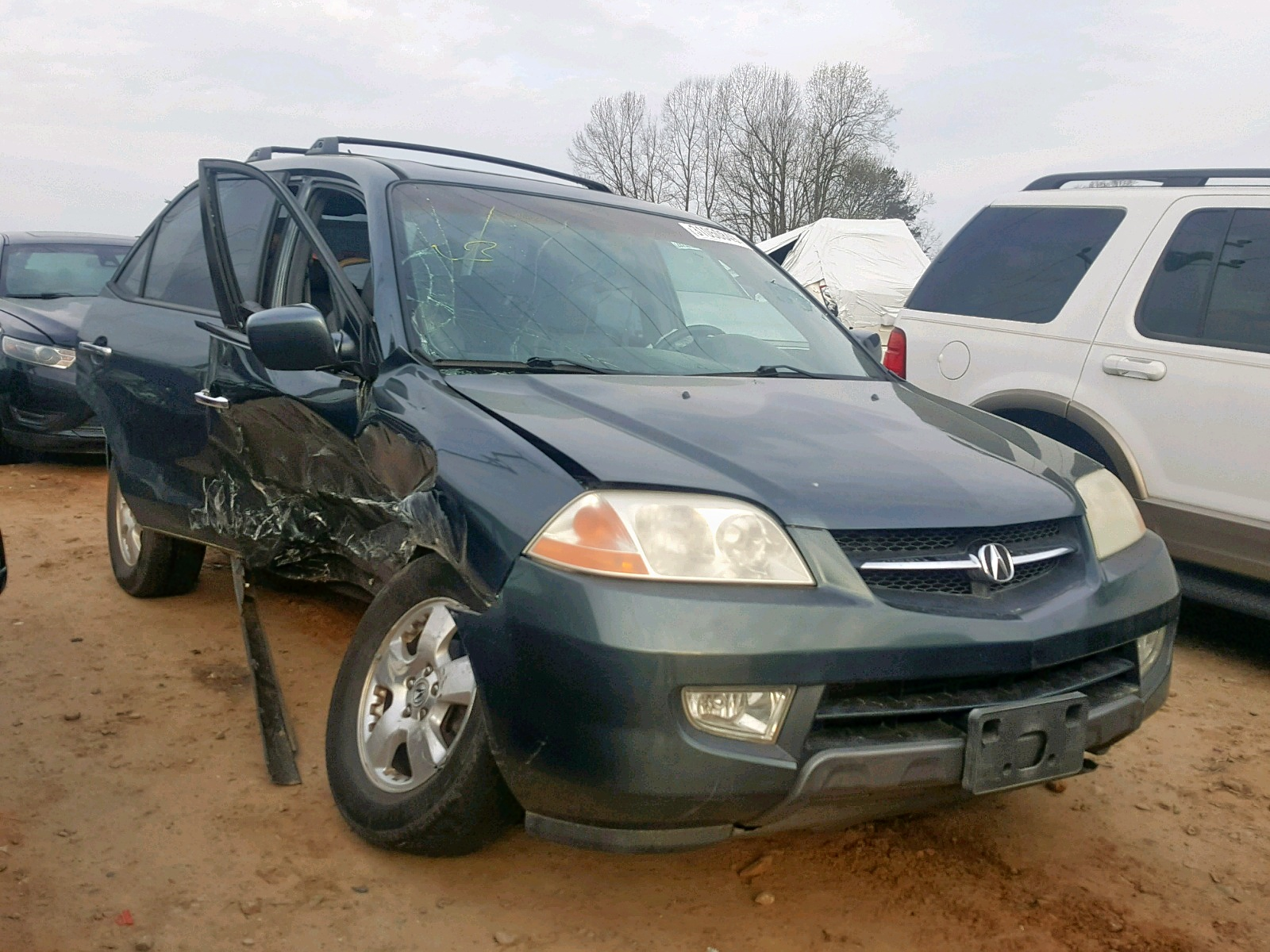 Salvage 2003 Acura MDX for sale