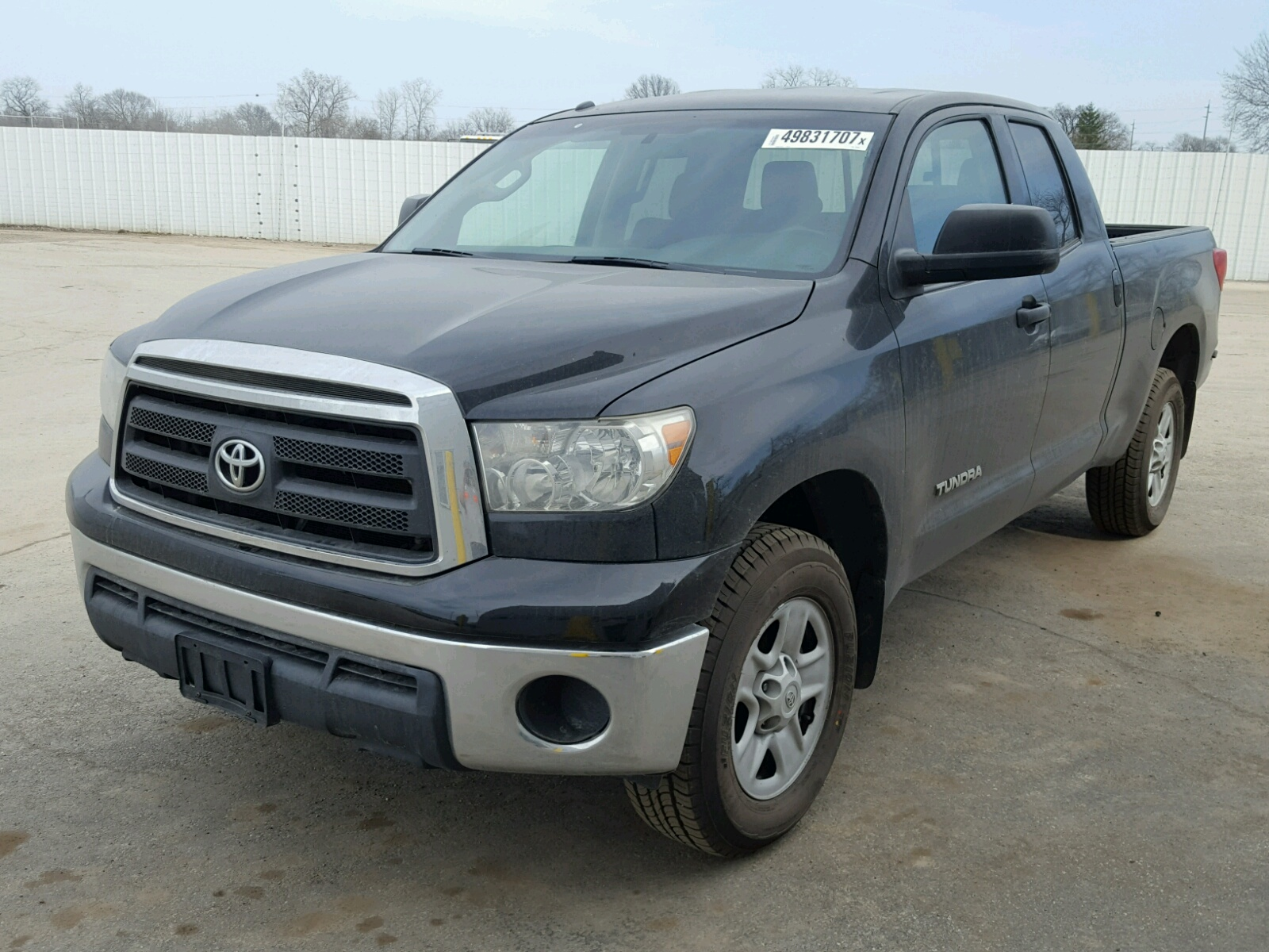 2011 toyota tundra dou for sale at copart columbus oh lot 49831707. Black Bedroom Furniture Sets. Home Design Ideas