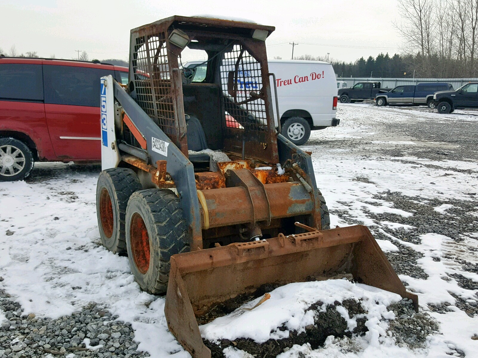1997 Bobcat 753 For Sale At Copart Leroy Ny Lot 54223438
