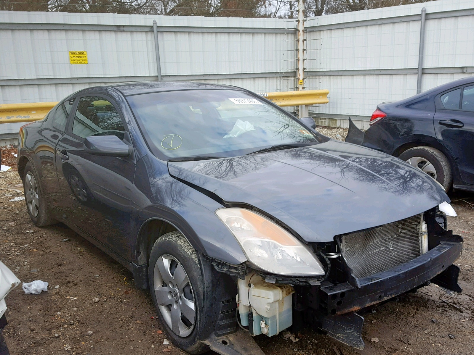 Salvage 2008 Nissan ALTIMA 2.5 for sale
