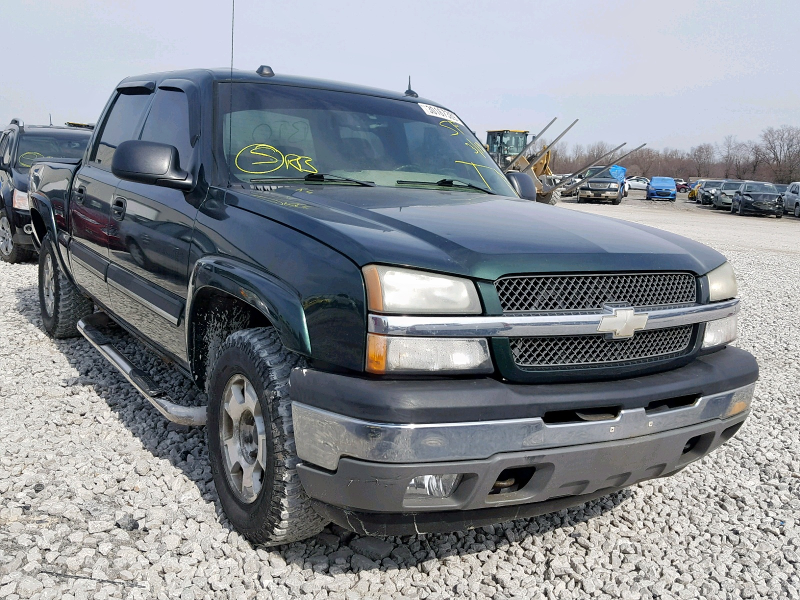 Salvage 2005 Chevrolet SILVERADO for sale