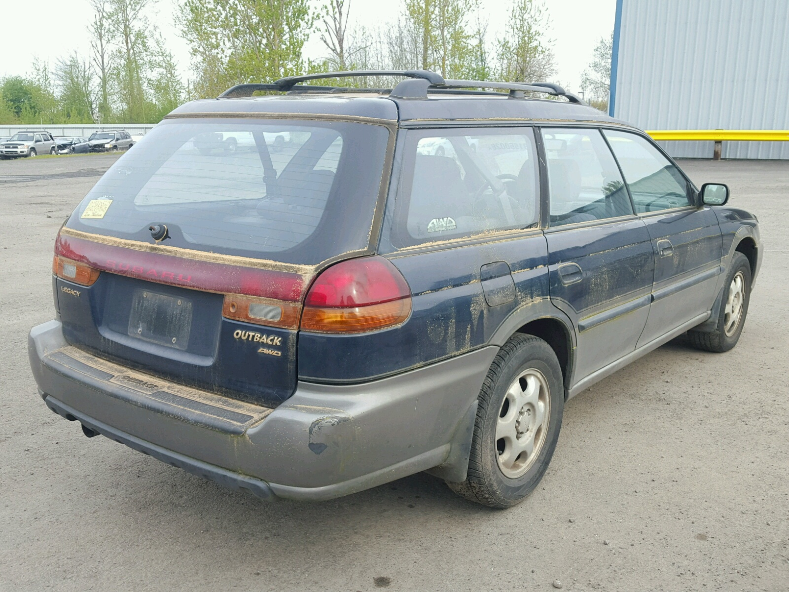 1998 Subaru Outback For Sale At Copart Portland Or Lot 31550028 Legacy