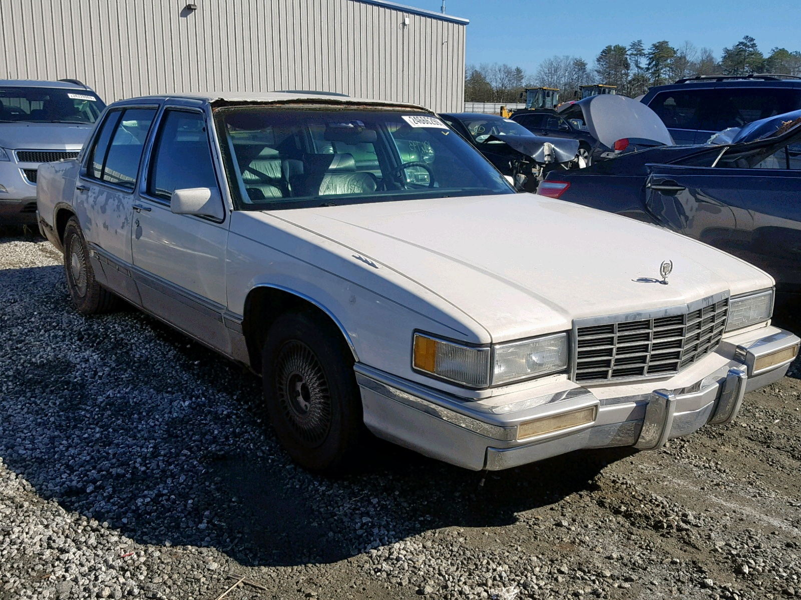 Salvage 1993 Cadillac 60 SPECIAL for sale