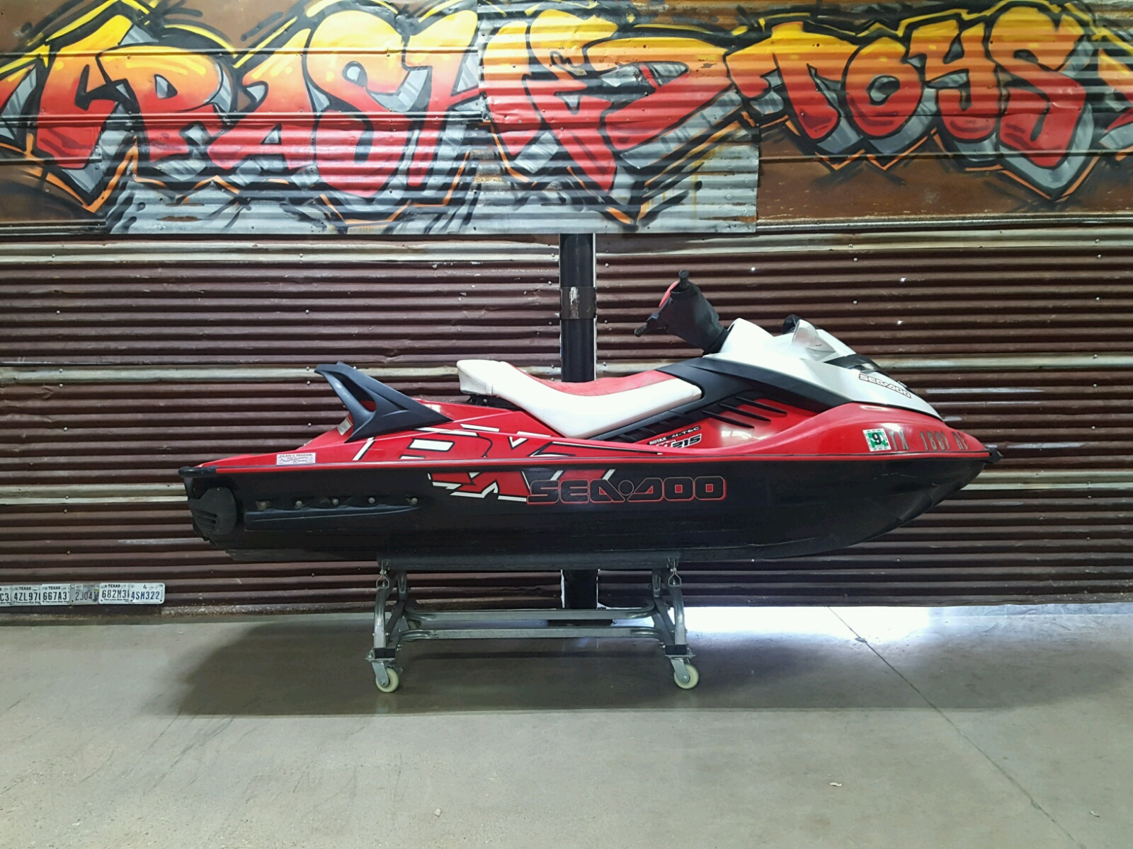 Salvage 2008 Seadoo RXT 215 for sale