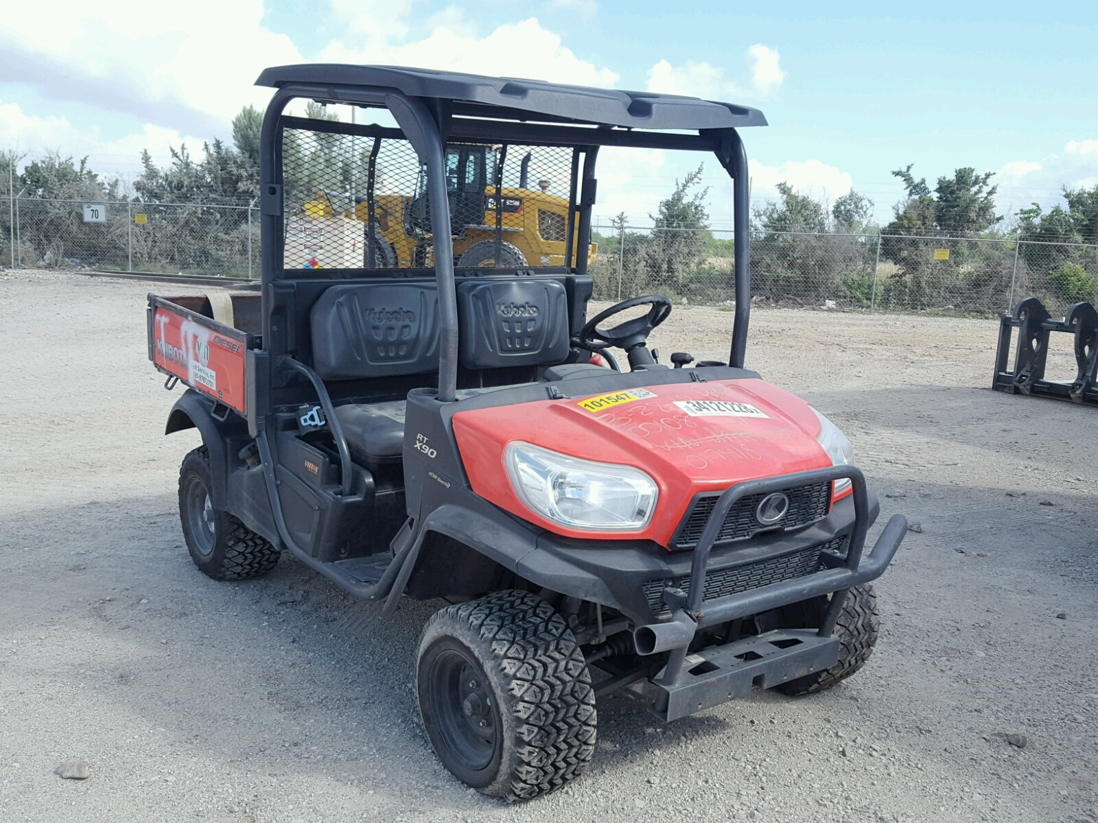 Salvage 2015 Kubota RTV X900 for sale