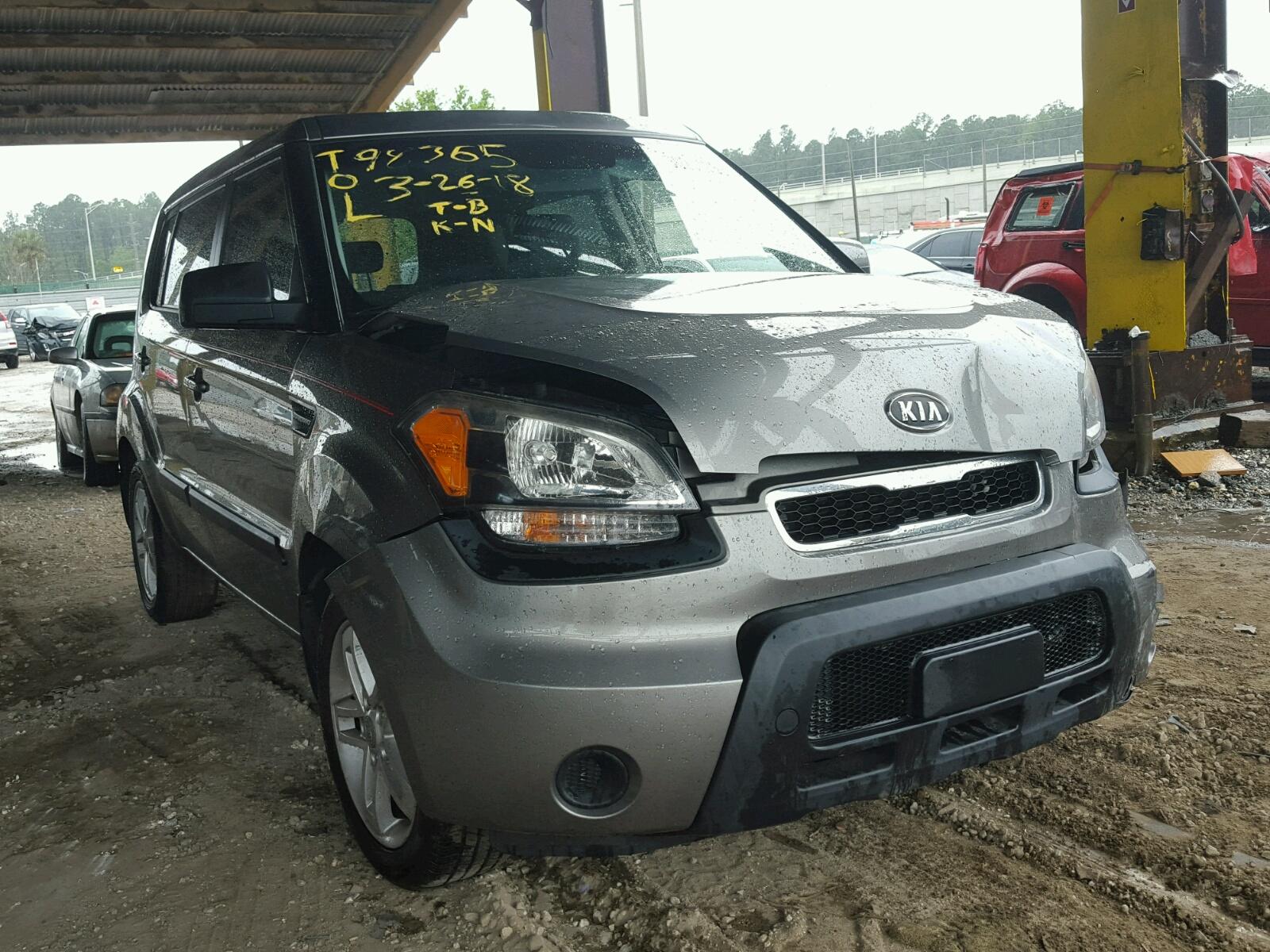 en title la of auctions carfinder baton online brown kia sale copart auto in rouge soul lot salvage on vehicle