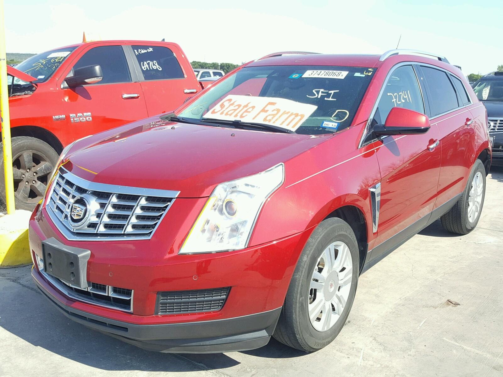 2013 Cadillac Srx Luxury 3.6L 6 in TX - Dallas ...