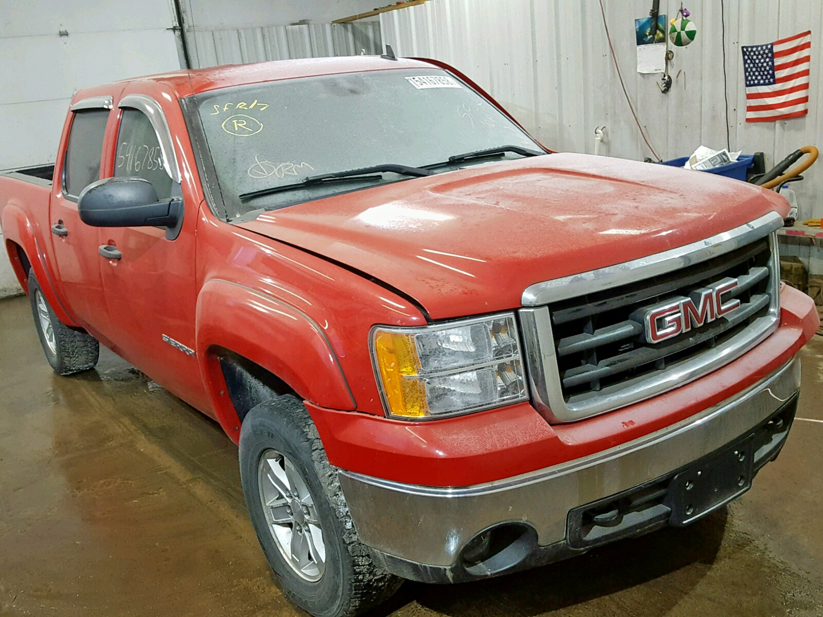 Salvage 2007 GMC NEW SIERRA for sale
