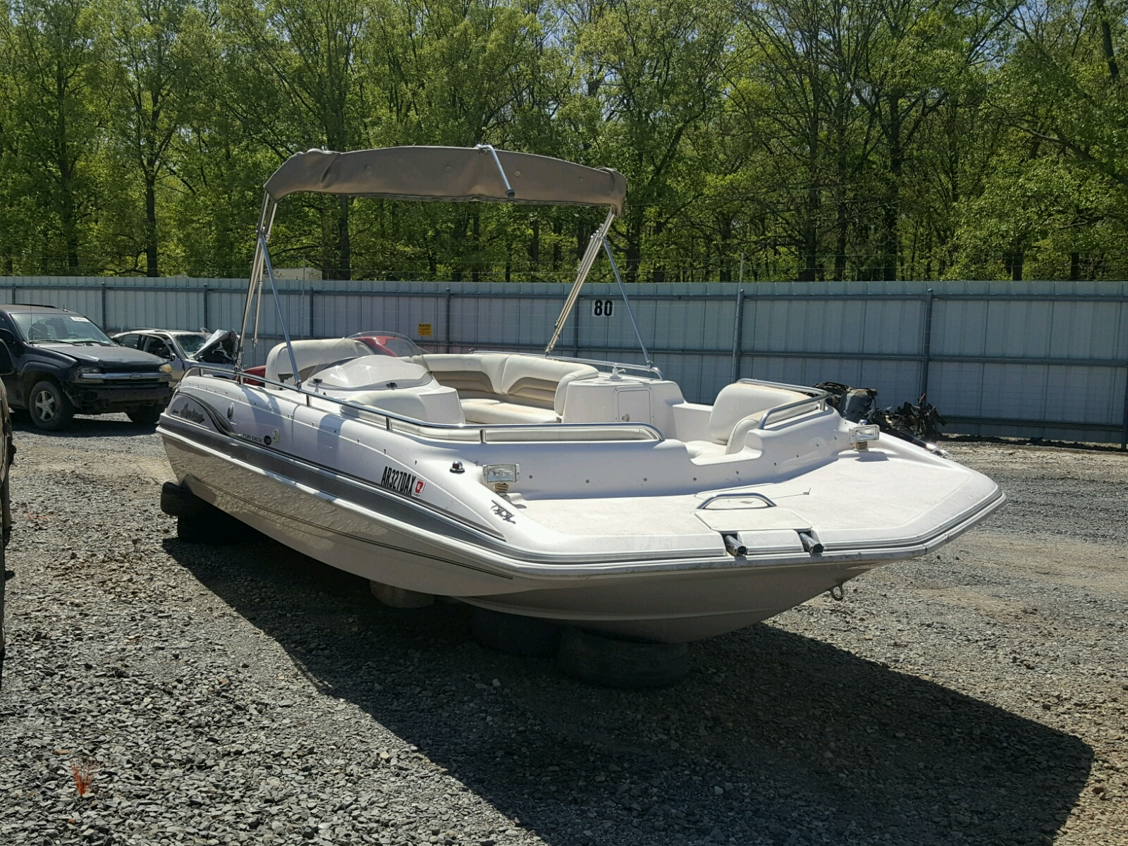 Salvage 2002 Hurricane MARINE LOT for sale