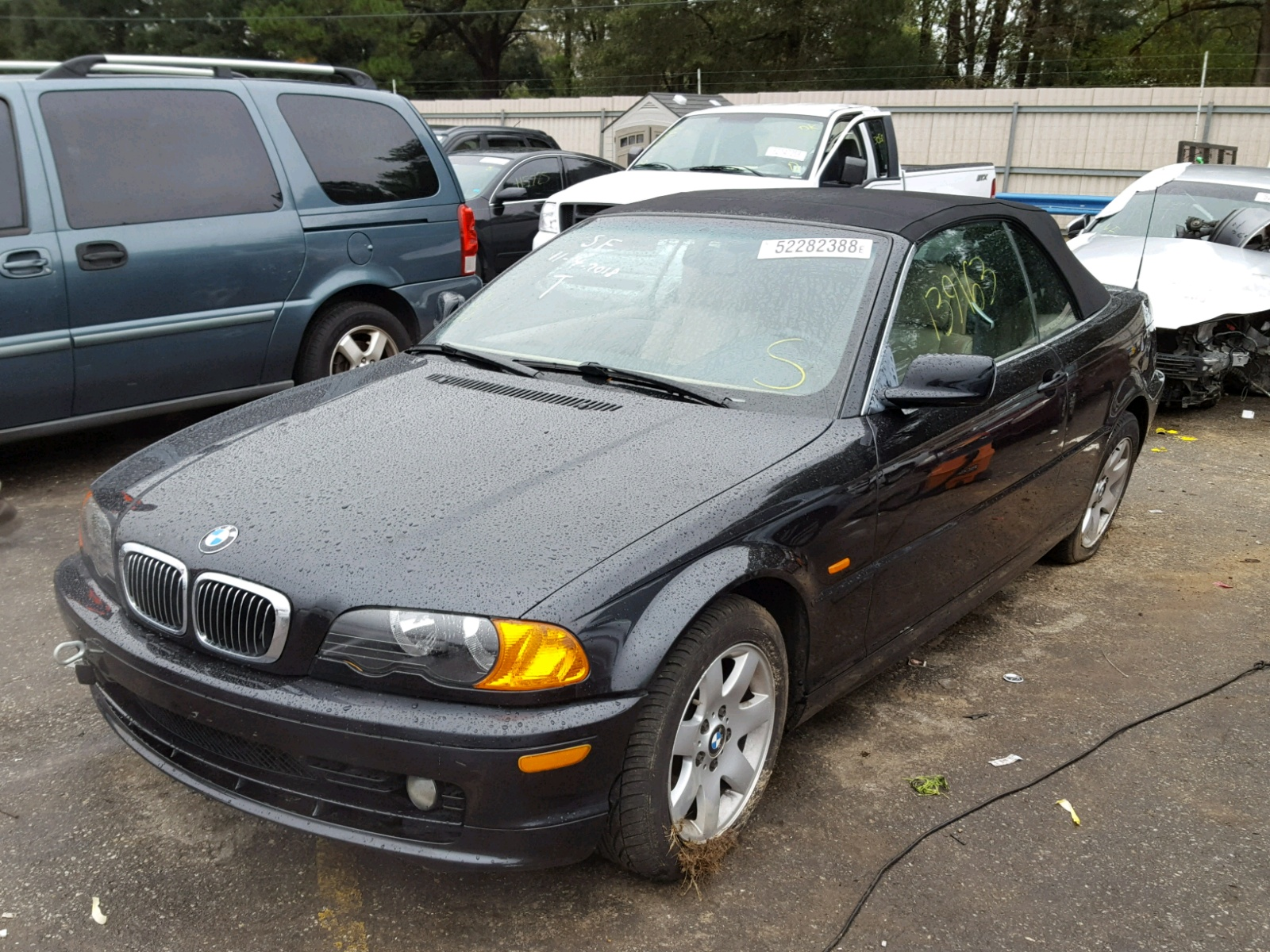 Auto Auction Ended On VIN WBABR334XYEA82803 2000 Bmw 323 Ci In AL