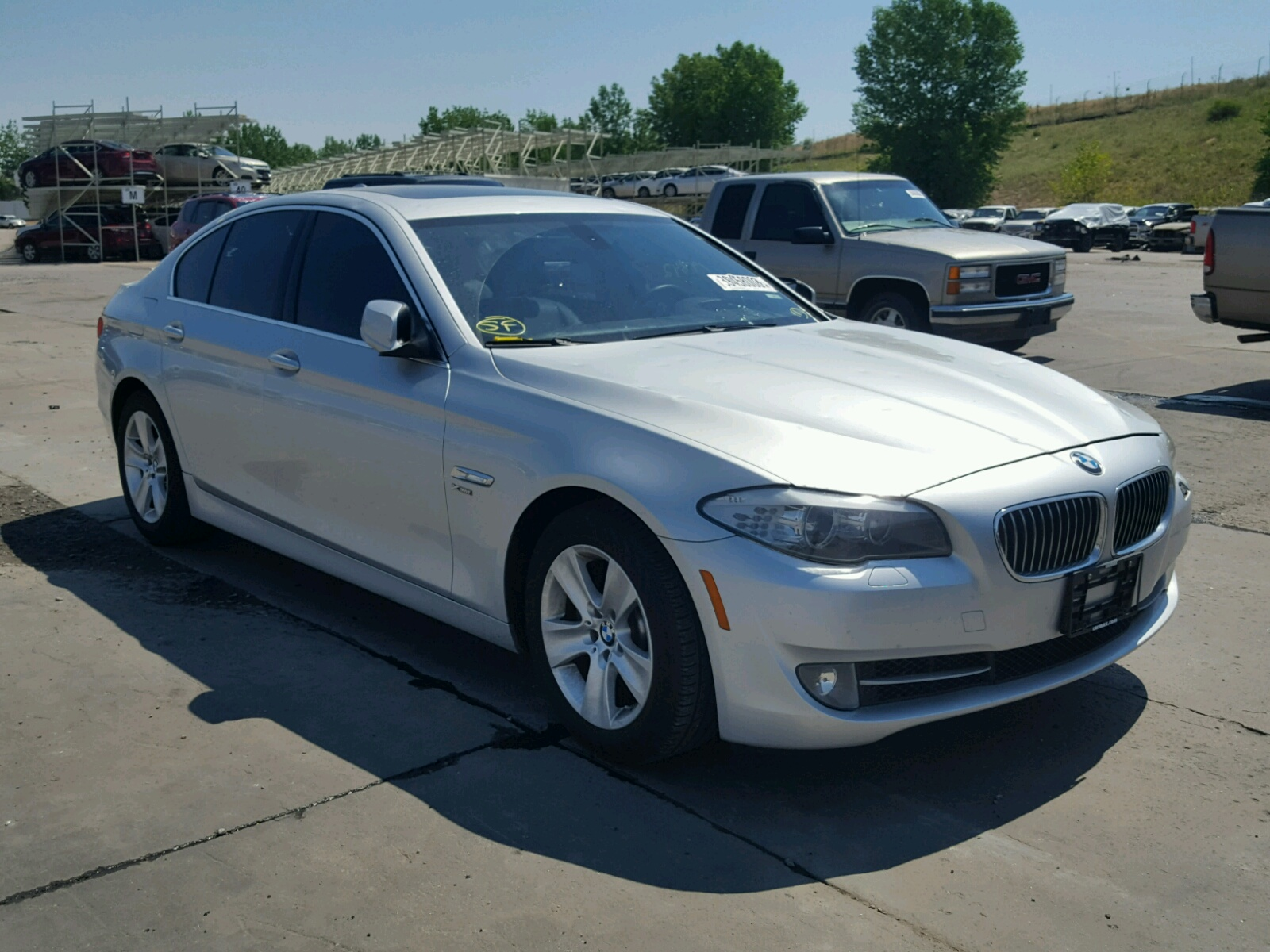 Salvage 2012 BMW 528 XI for sale
