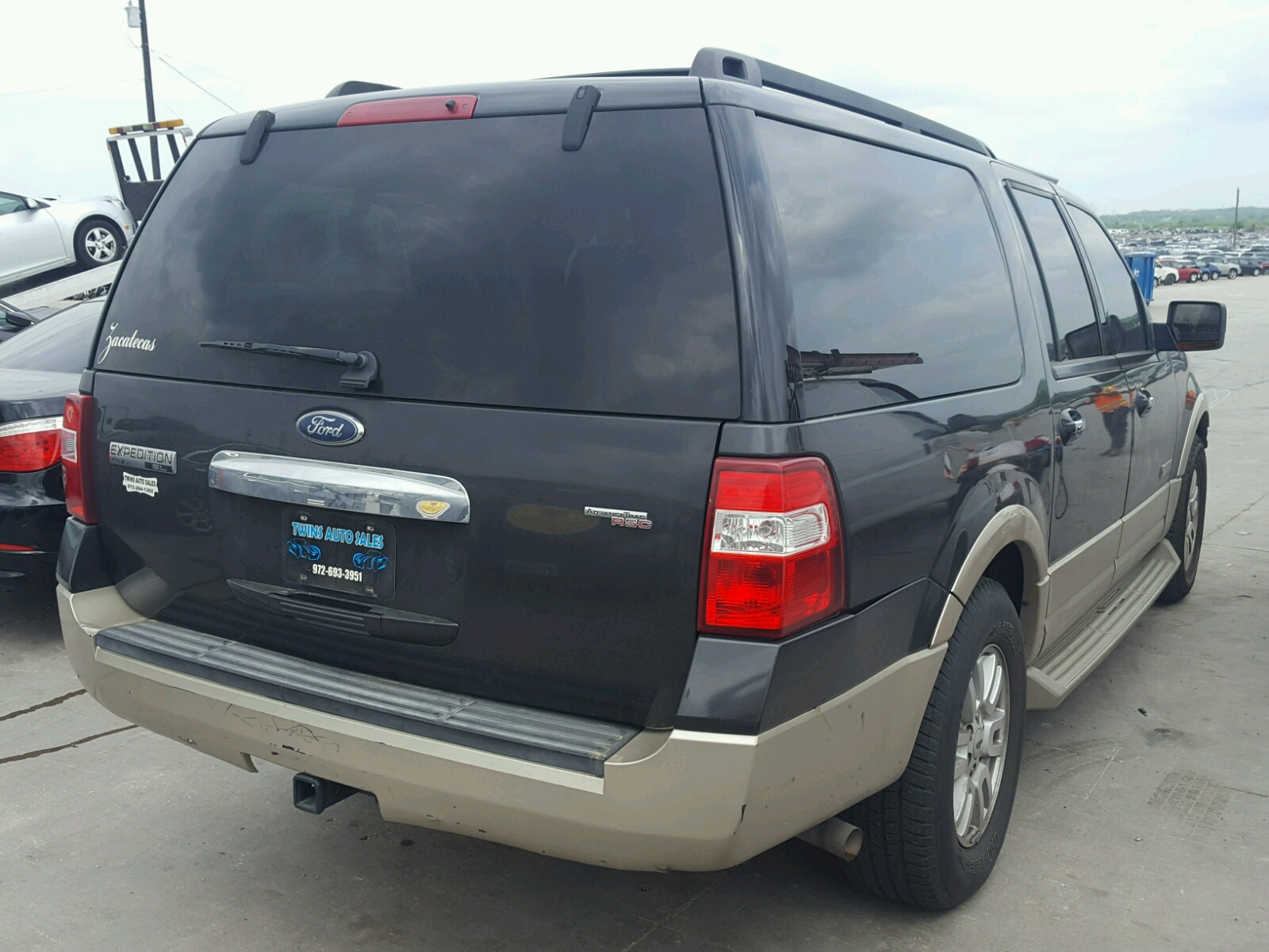 2007 Ford Expedition Front End Damage 1FMFK LA Sold