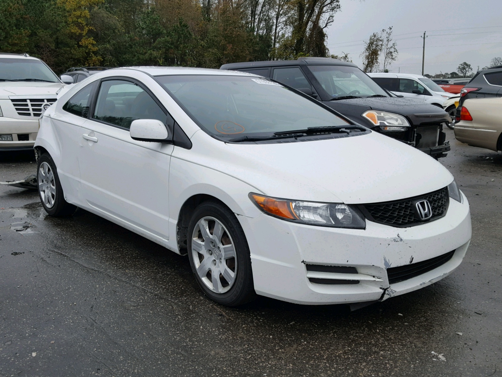 Salvage 2009 Honda CIVIC LX for sale