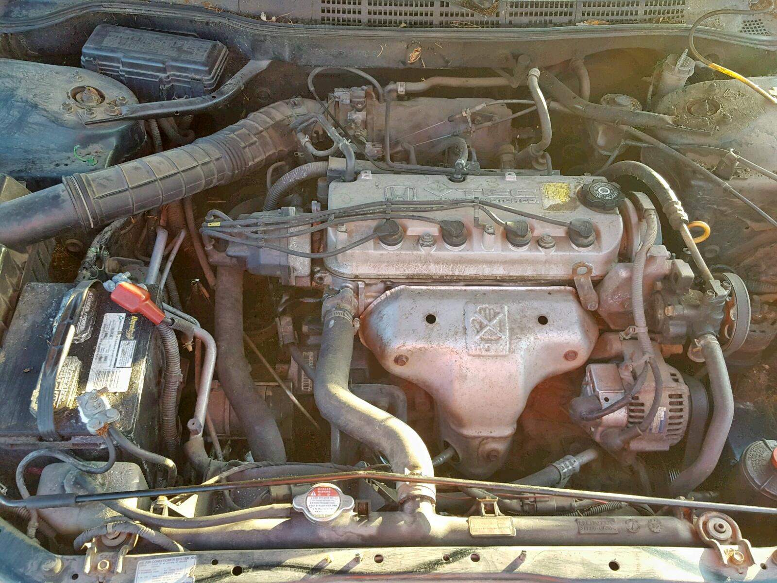 1998 Honda Accord Lx For Sale At Copart Prairie Grove Ar Lot 54707918
