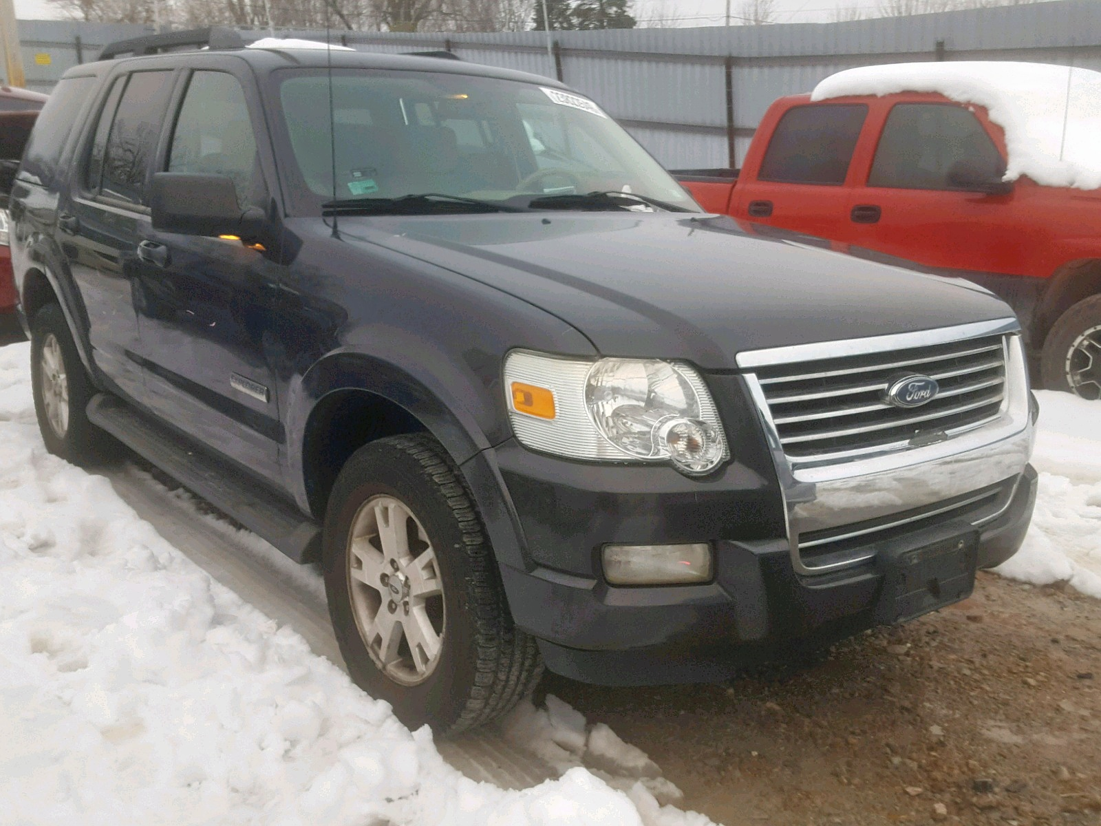 Salvage 2007 Ford EXPLORER X for sale