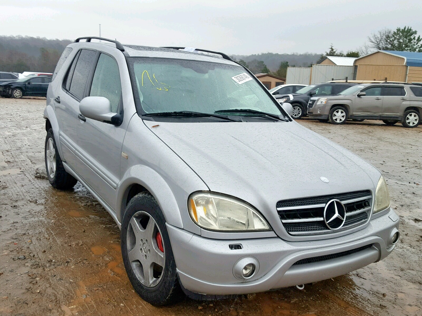 Salvage 2001 Mercedes-Benz ML 55 for sale
