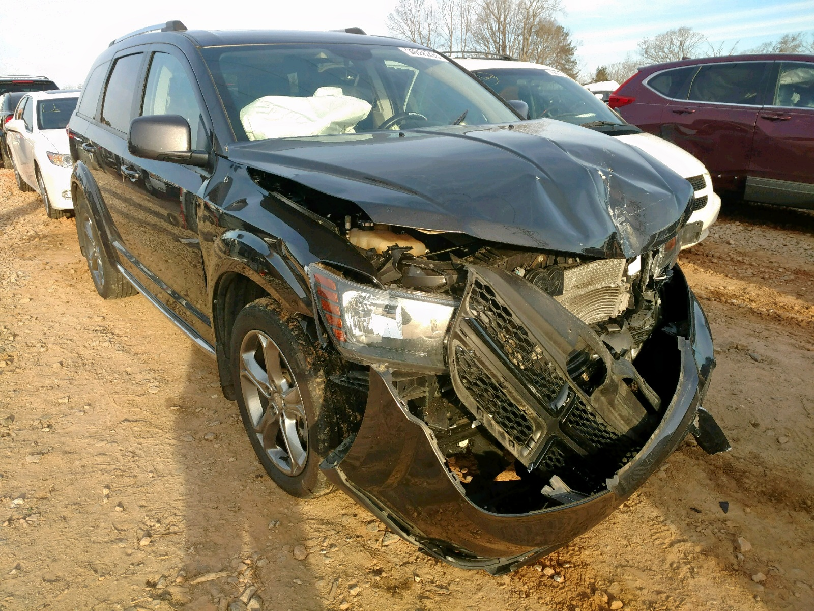 Salvage 2016 Dodge JOURNEY CR for sale