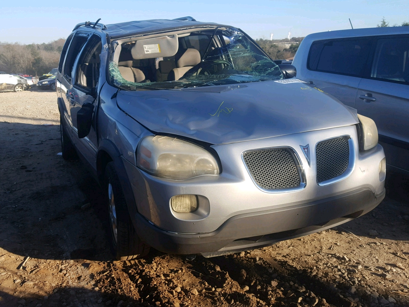 Salvage 2006 Pontiac MONTANA SV for sale