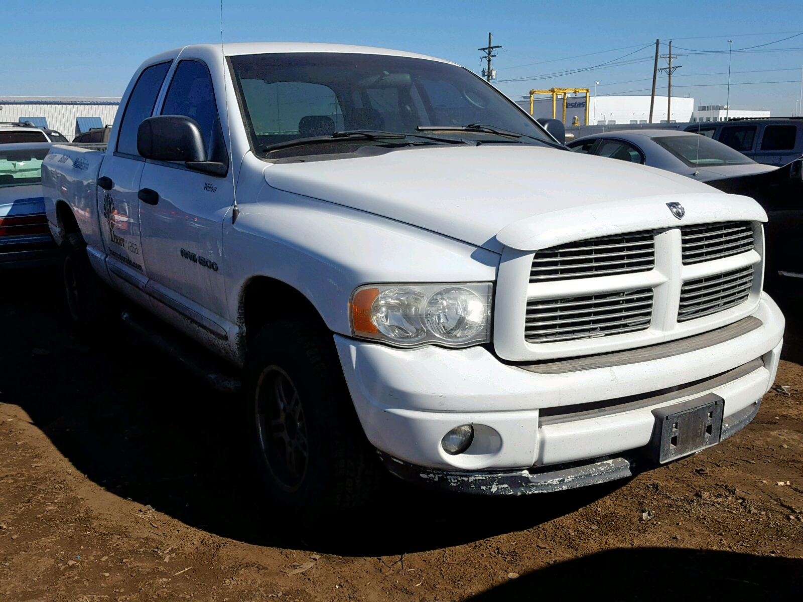 Salvage 2005 Dodge RAM 1500 Q for sale