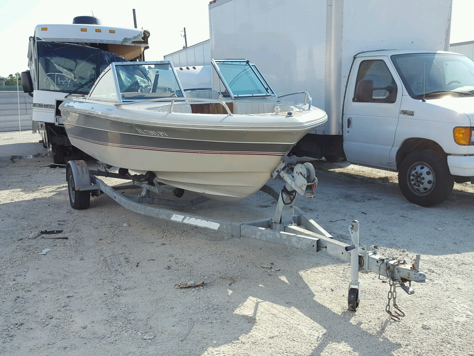 Salvage 1987 Cobalt BOAT for sale