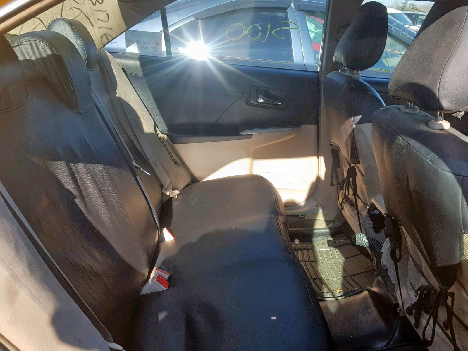 2012 Toyota Camry Hybr 2.5L detail view