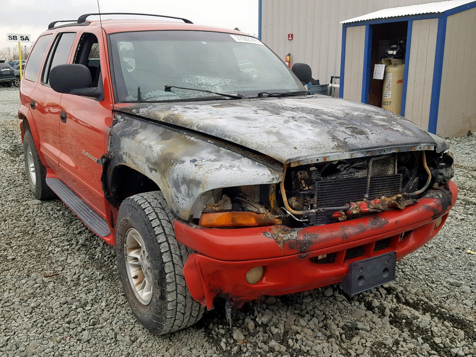 Salvage 2000 Dodge DURANGO for sale