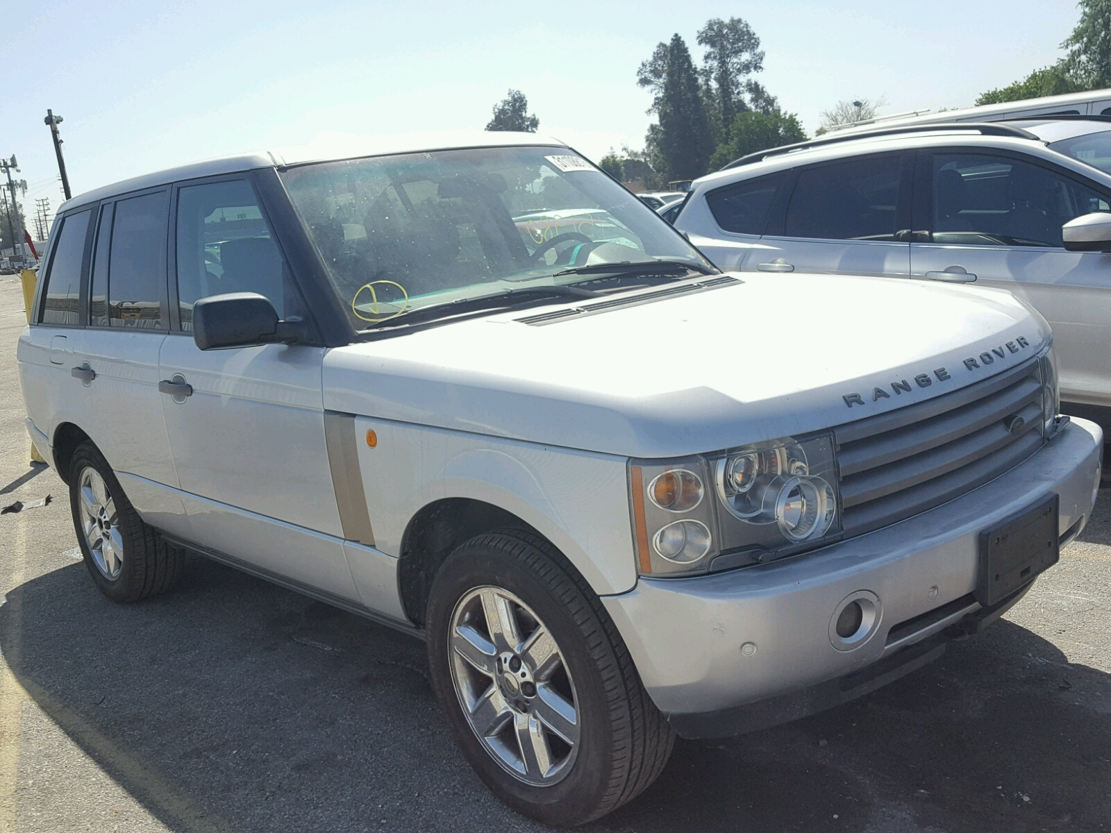 2003 Land Rover Range Rover for sale at Copart Van Nuys CA Lot
