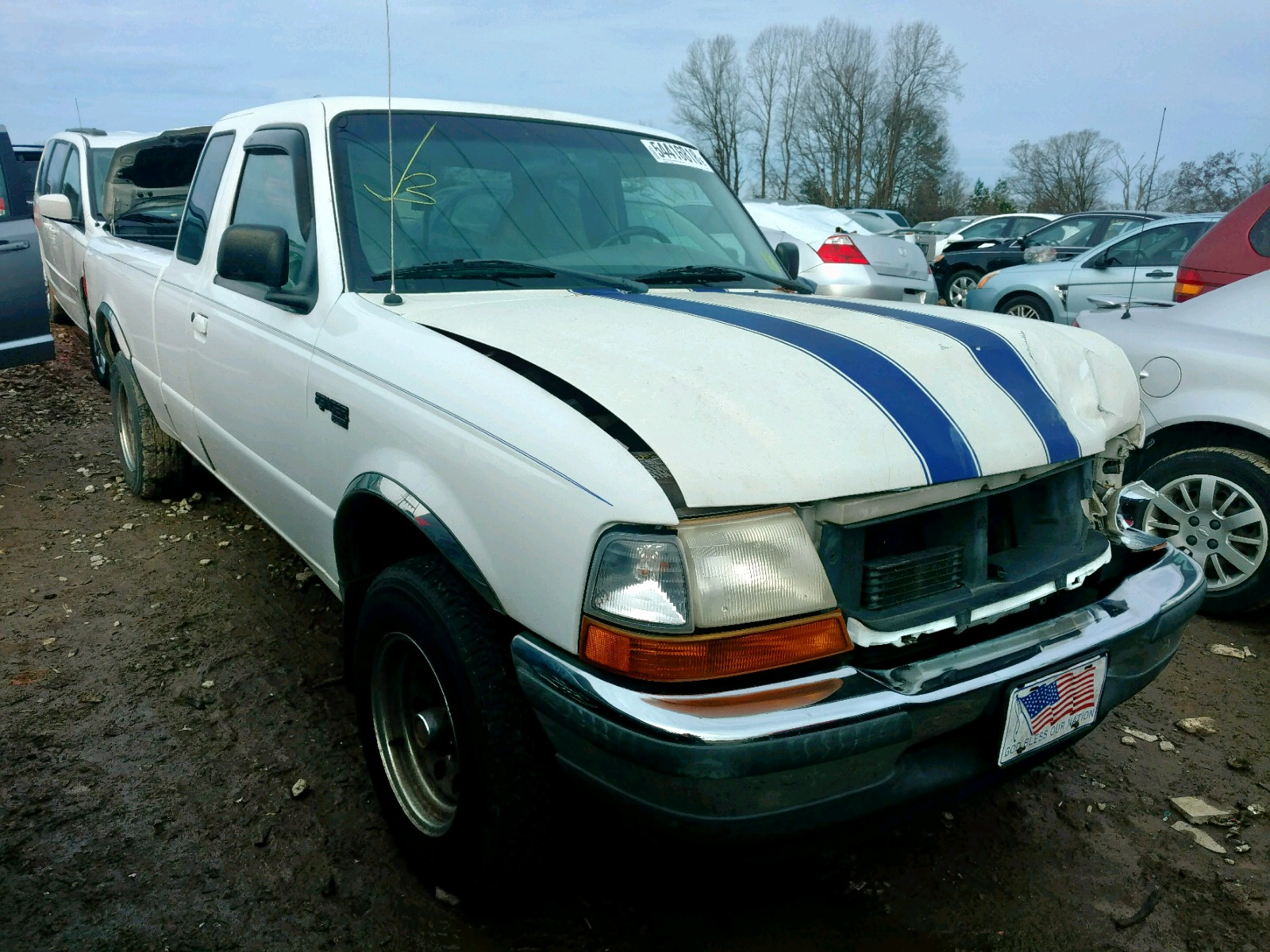 Salvage 1998 Ford RANGER SUP for sale
