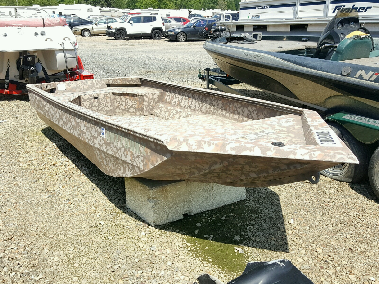Salvage 2012 Arnes BOAT for sale