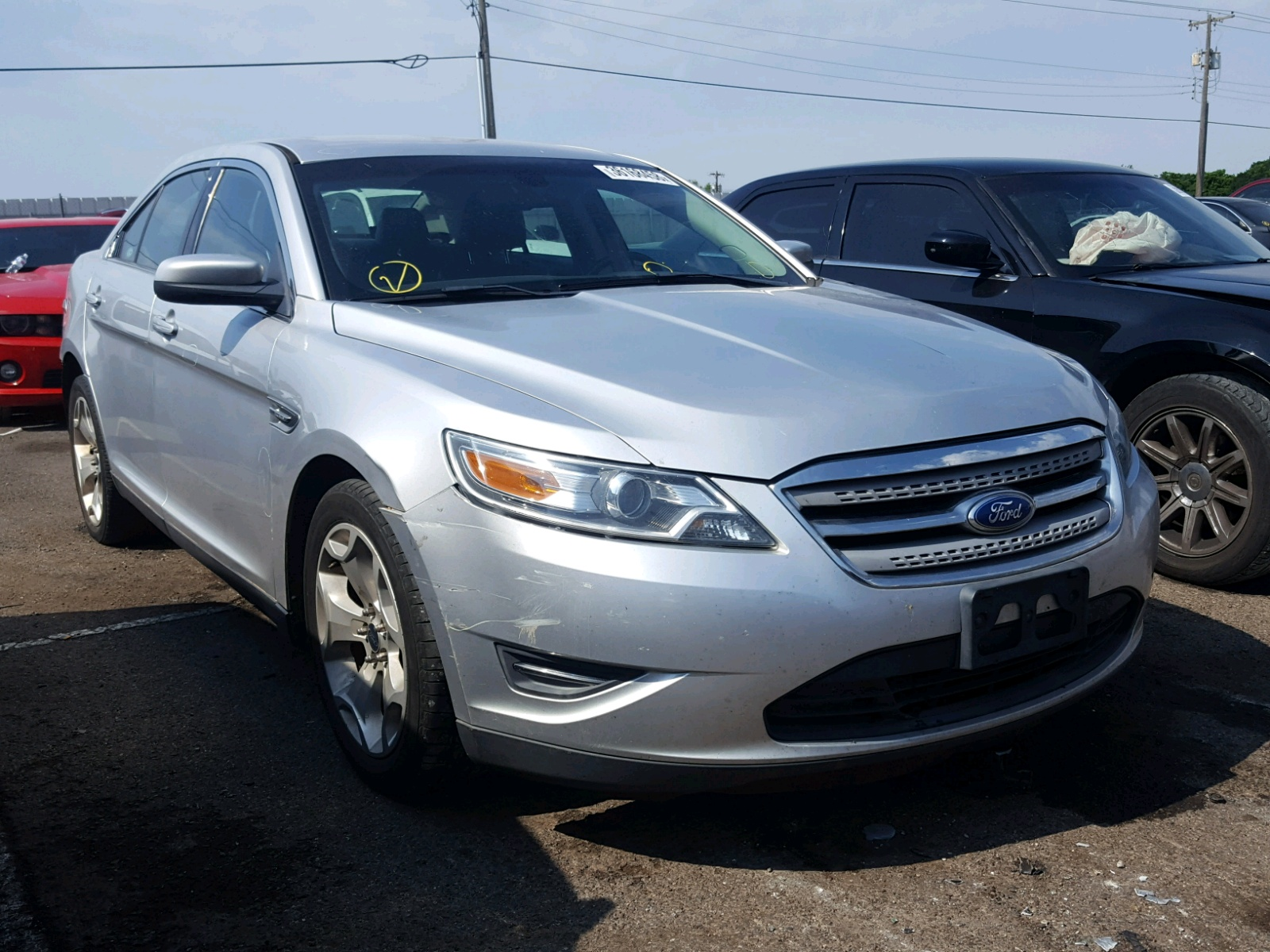2012 Ford Taurus SEL for sale at Copart Oklahoma City OK Lot