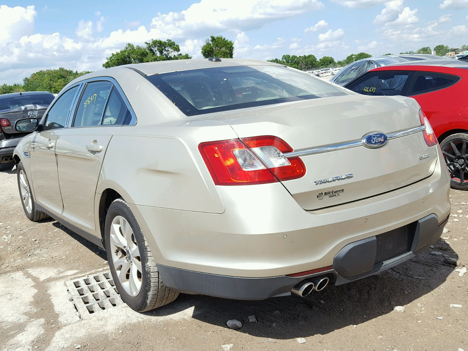 2010 Ford Taurus Sel Front End Damage 1FAHP2EW6AG Sold
