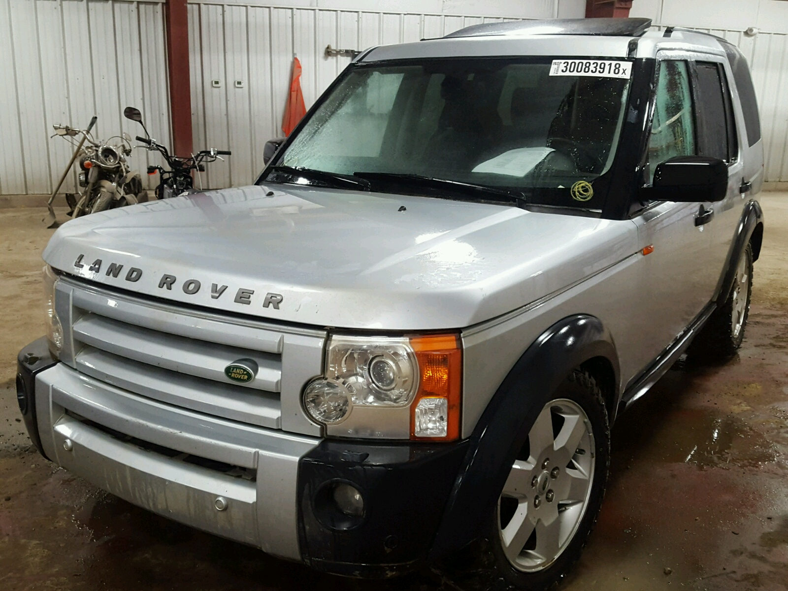 of for copart auctions carfinder en sale ga left landrover savannah title in salvage blue rover cert on land online view hse lot auto
