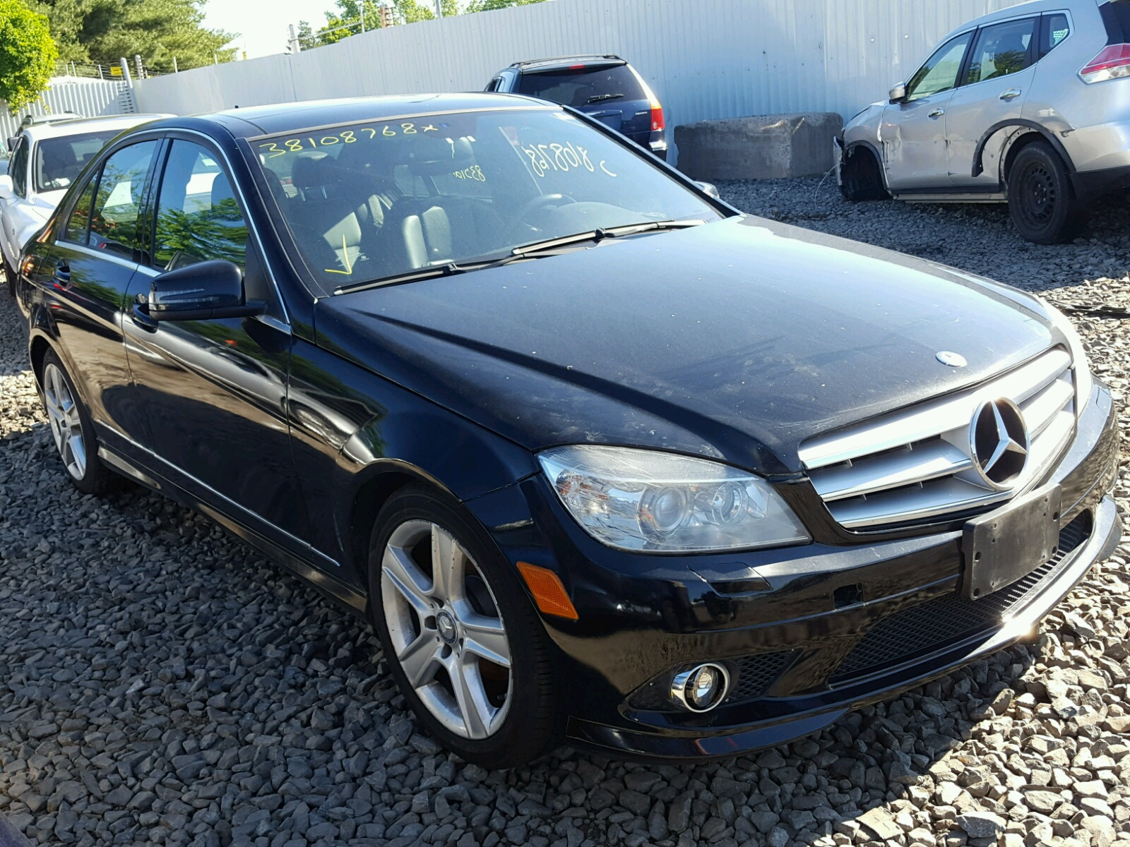 Salvage 2010 Mercedes-Benz C 300 4MATIC for sale