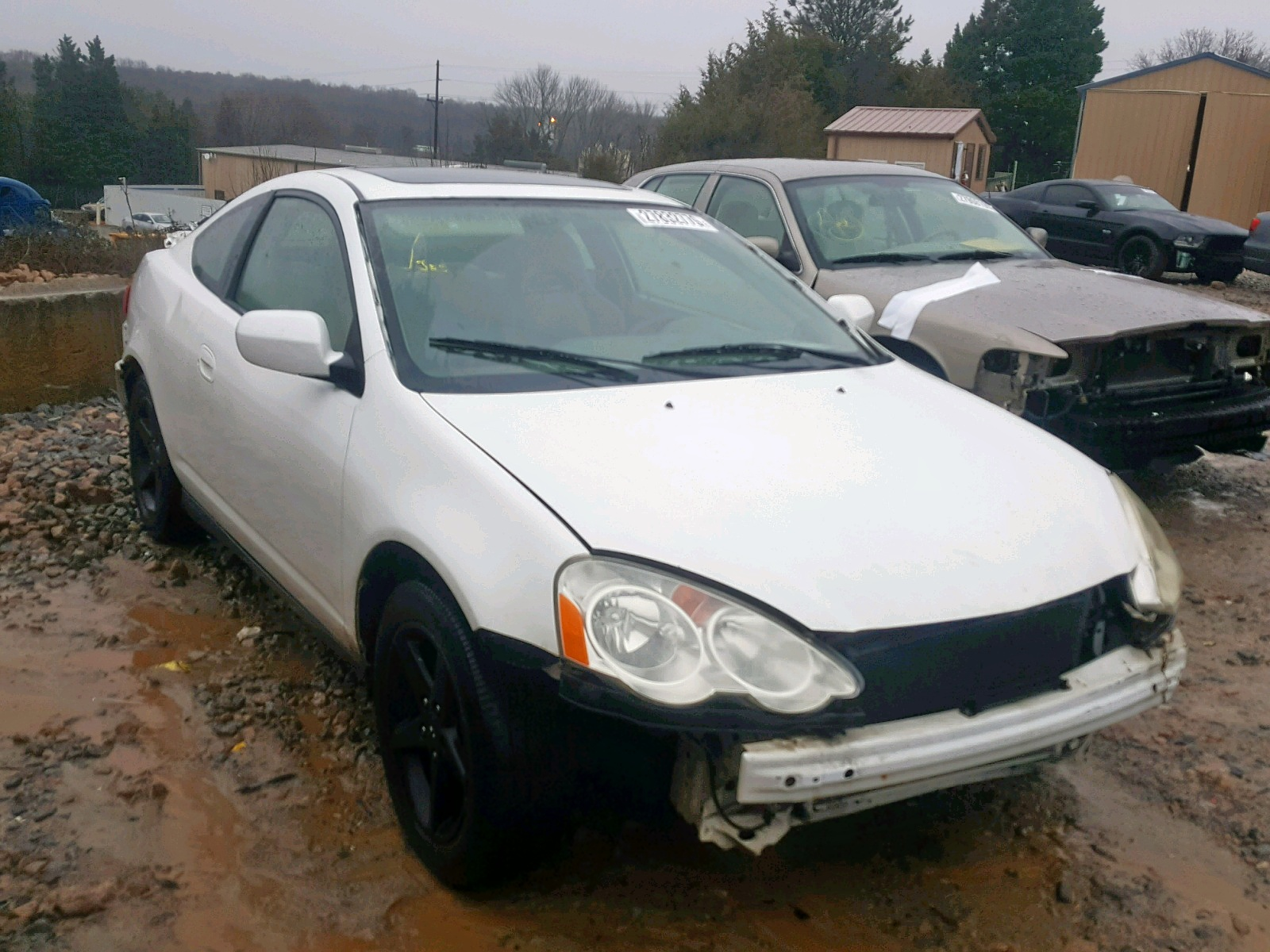 Salvage 2002 Acura RSX for sale