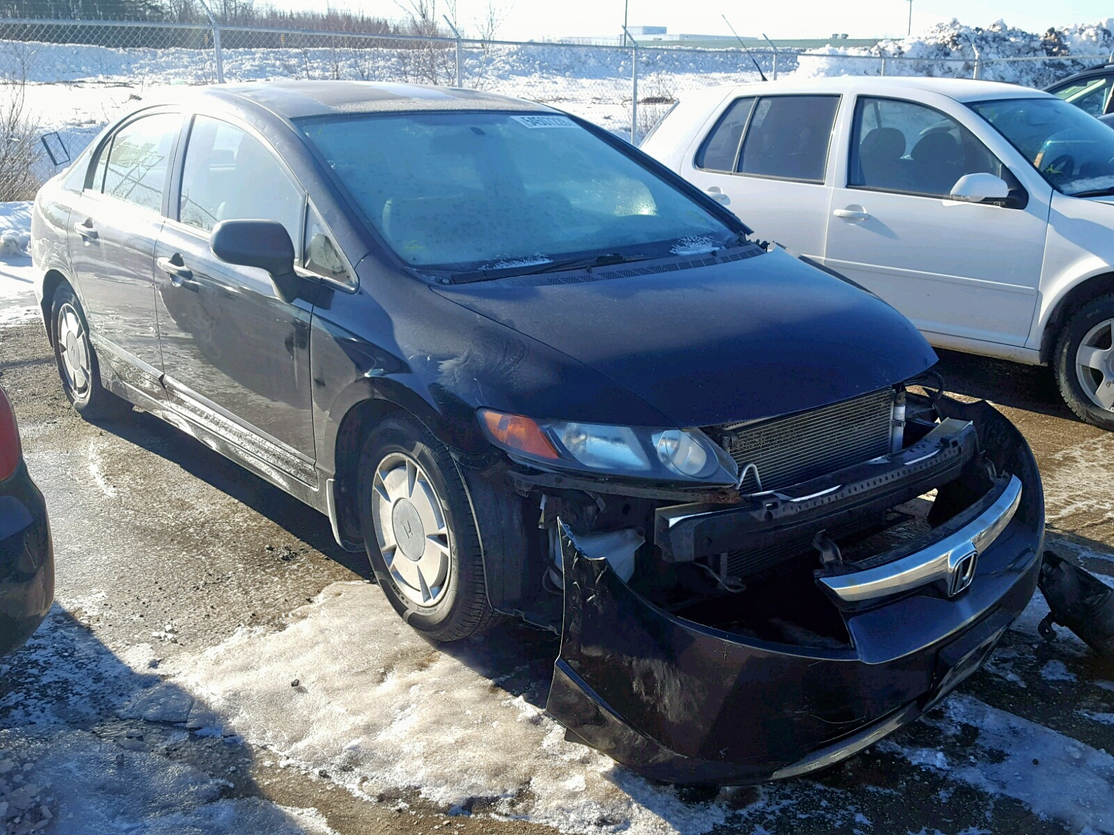 Salvage 2008 Honda CIVIC DX-G for sale