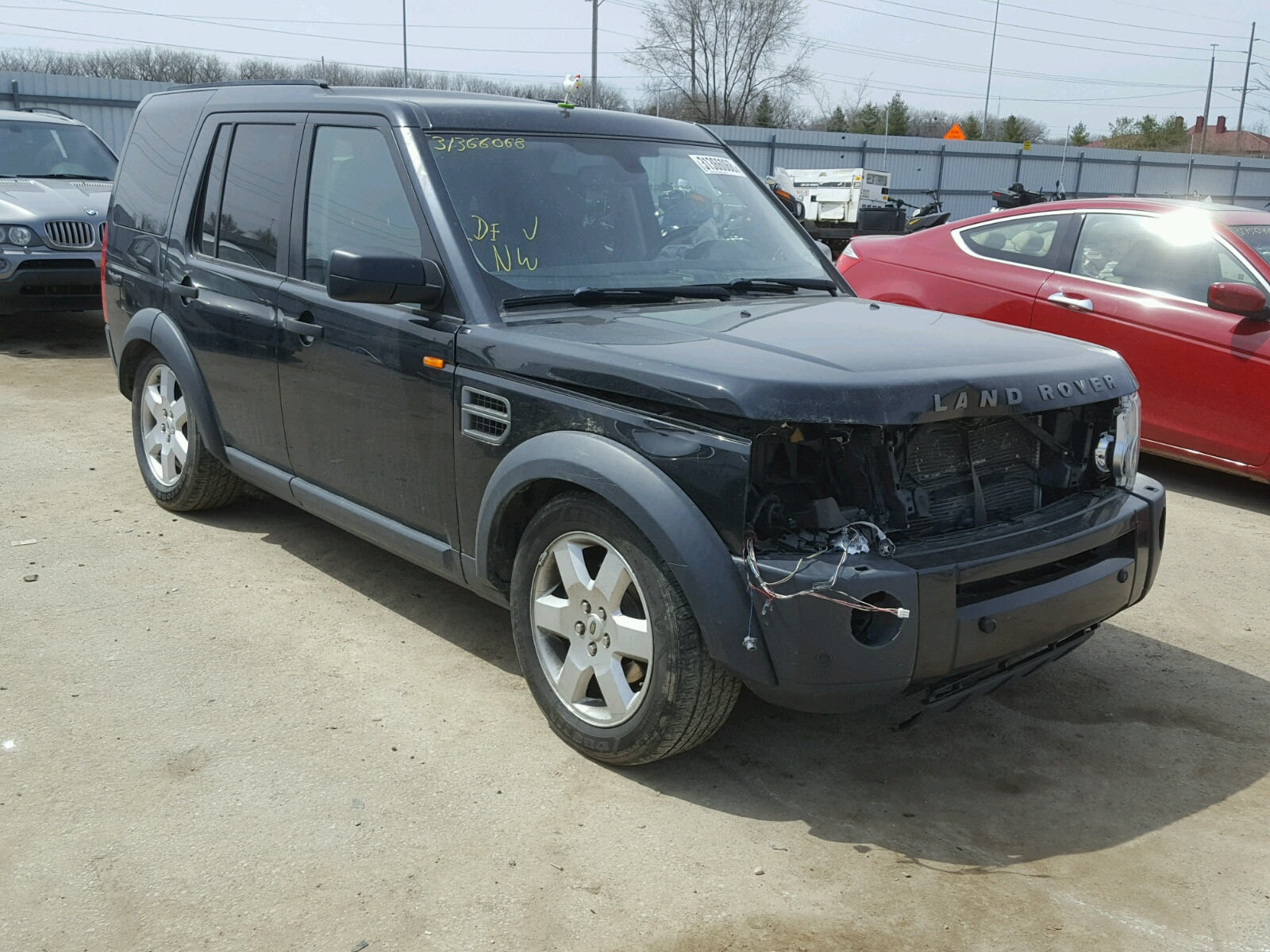 auctions carfinder salvage sale ca lot online san copart on landrover rear land in auto view rover certificate blue diego en hse for
