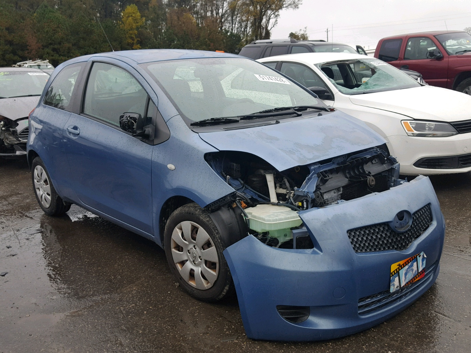 Salvage 2007 Toyota YARIS for sale