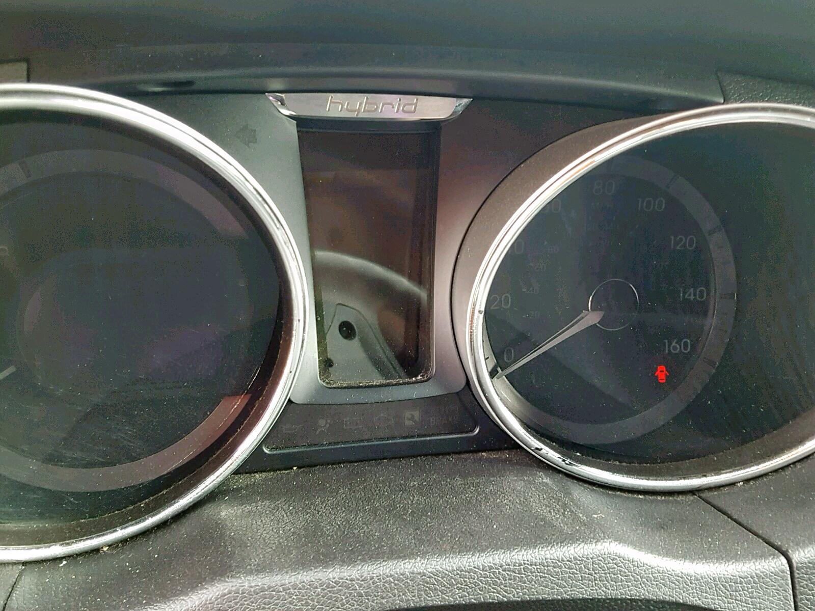 2012 Hyundai Sonata Hyb 2.4L front view