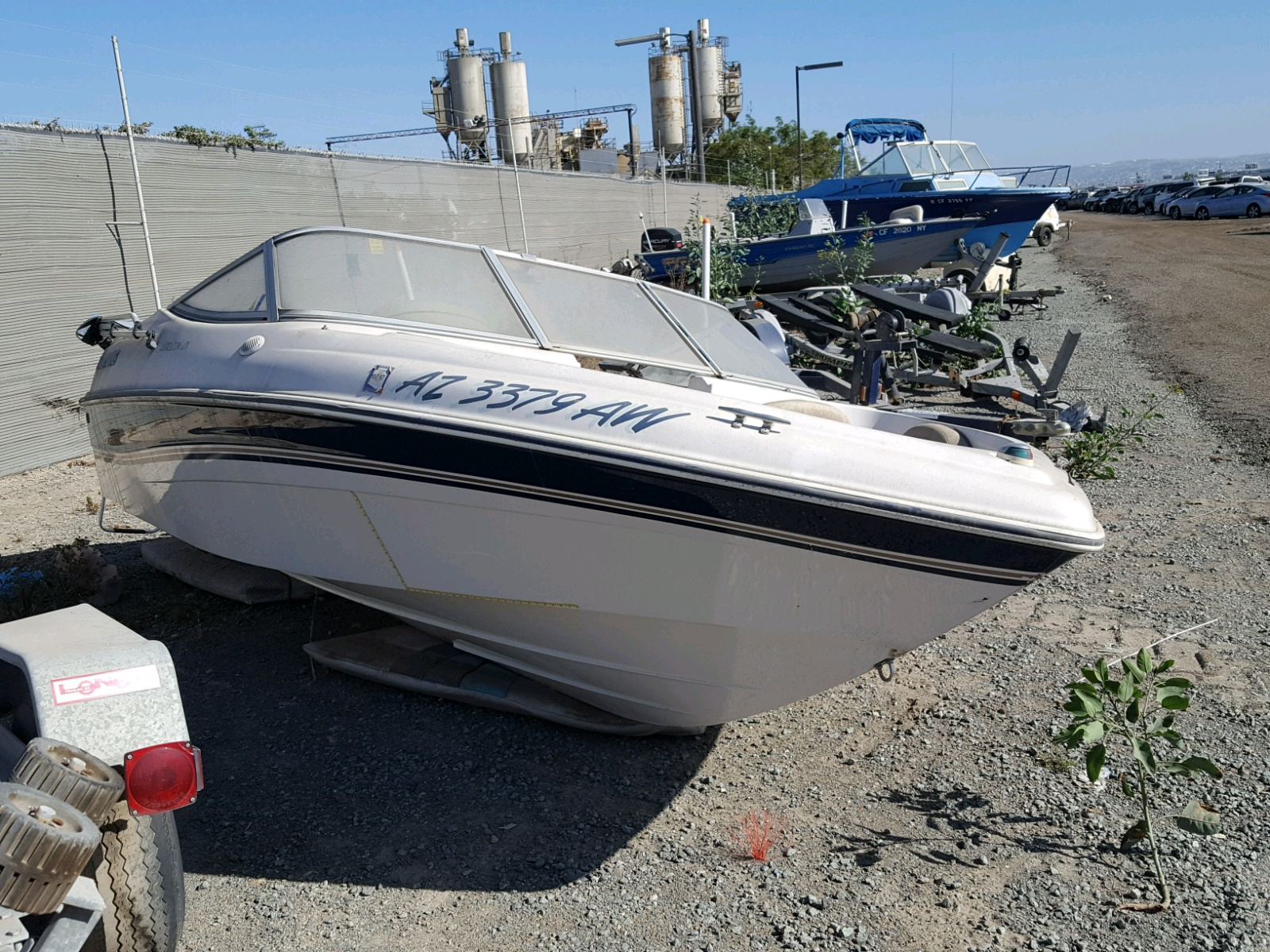 Salvage 1997 Four Winds BOAT for sale
