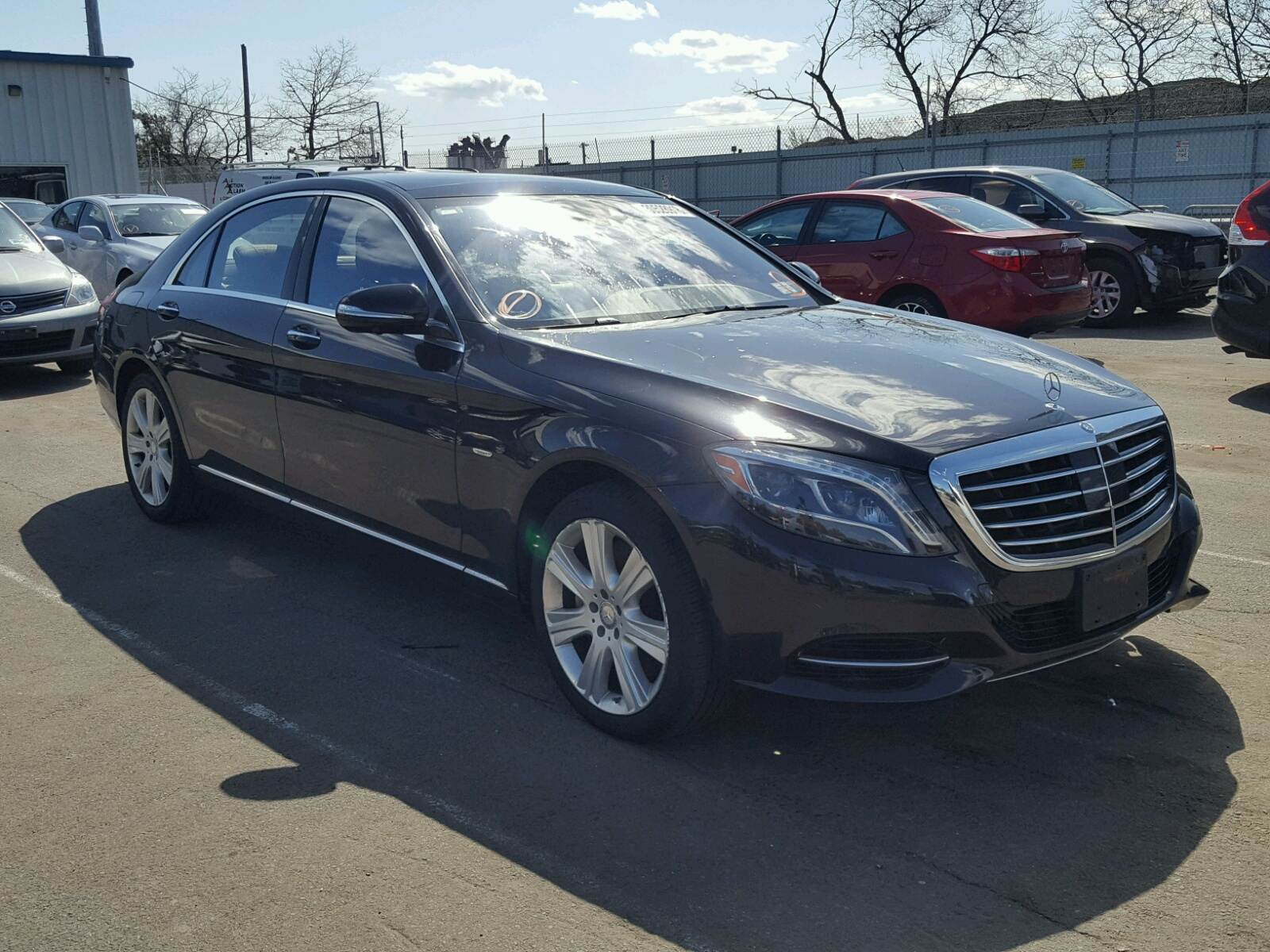 Auto auction ended on vin wddug8cb6ea056122 2014 mercedes for Mercedes benz montgomery al