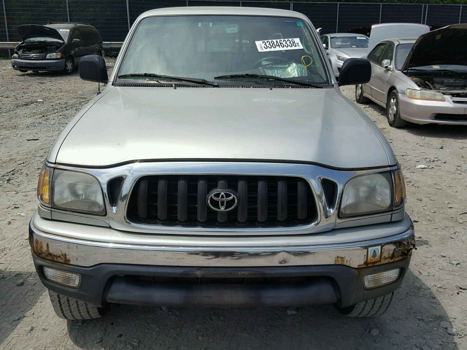 Copart Member Service Number >> 2002 Toyota Tacoma Xtr 3.4L 6 in DC - Washington DC (5TEWN72N22Z125033) for Sale – AutoBidMaster.com