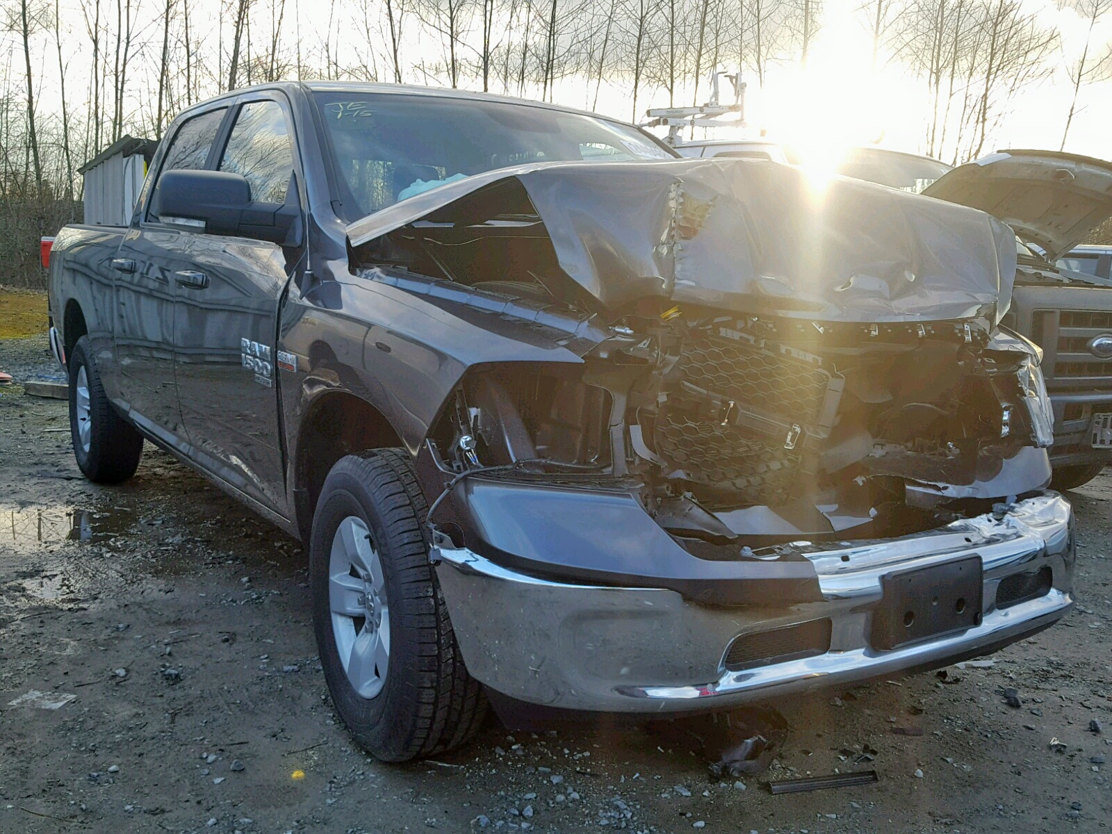 Salvage 2019 Dodge RAM 1500 CLASS for sale