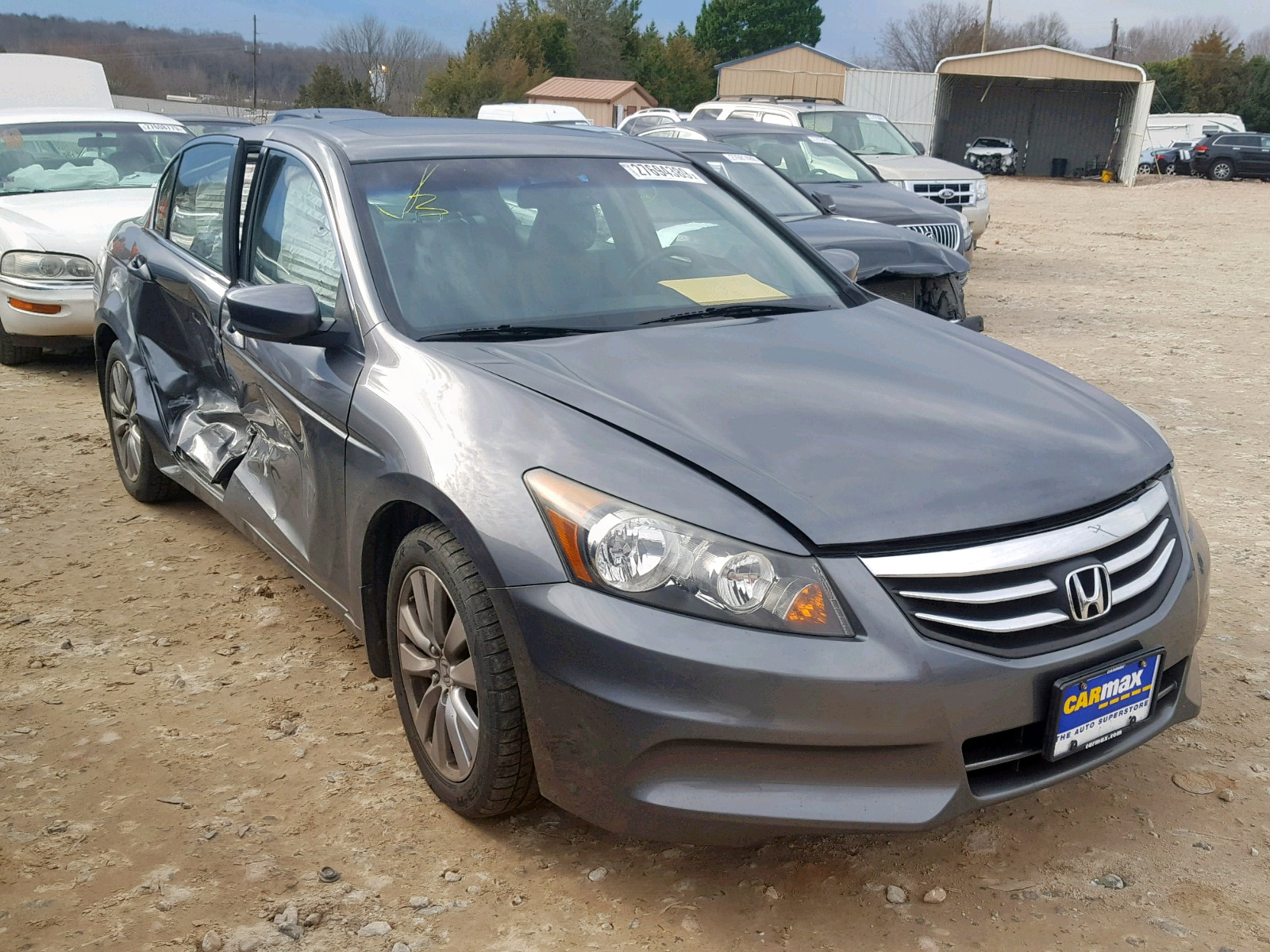 Salvage 2012 Honda ACCORD EXL for sale