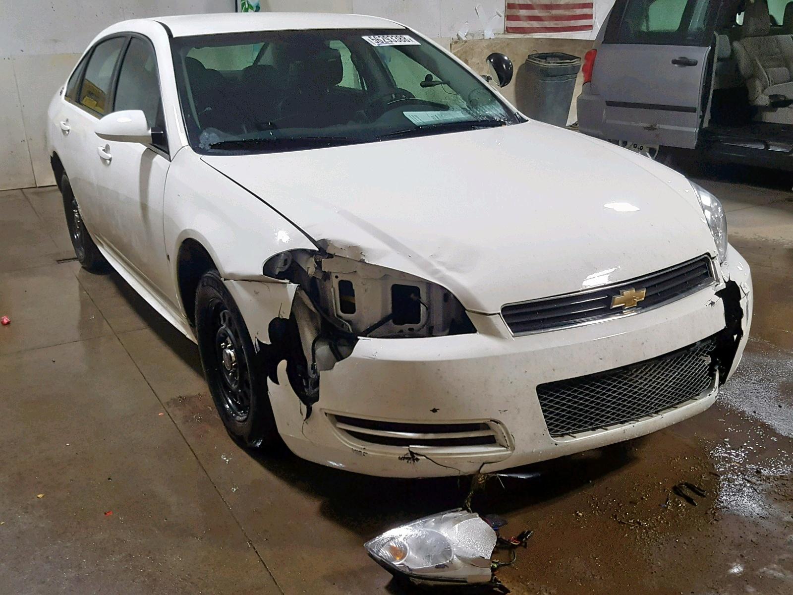 Salvage 2009 Chevrolet IMPALA POL for sale
