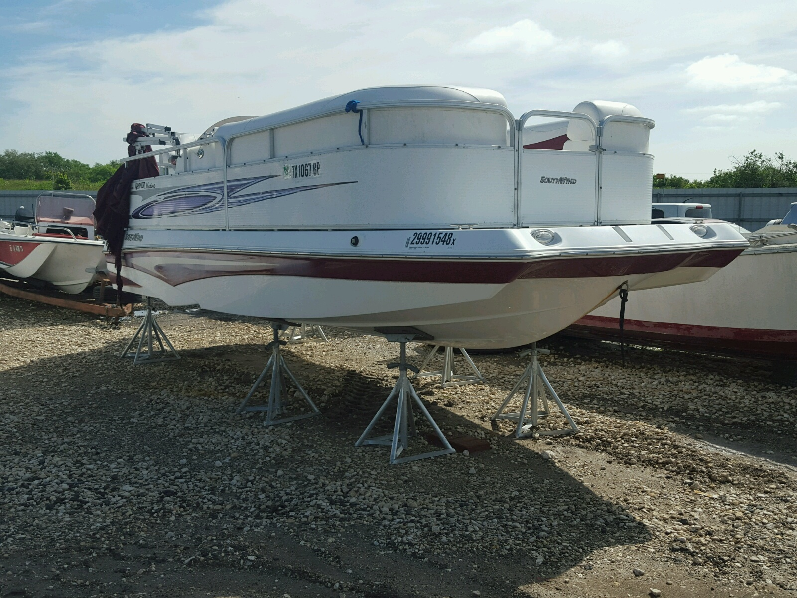 Salvage 2012 Southwind MARINE LOT for sale