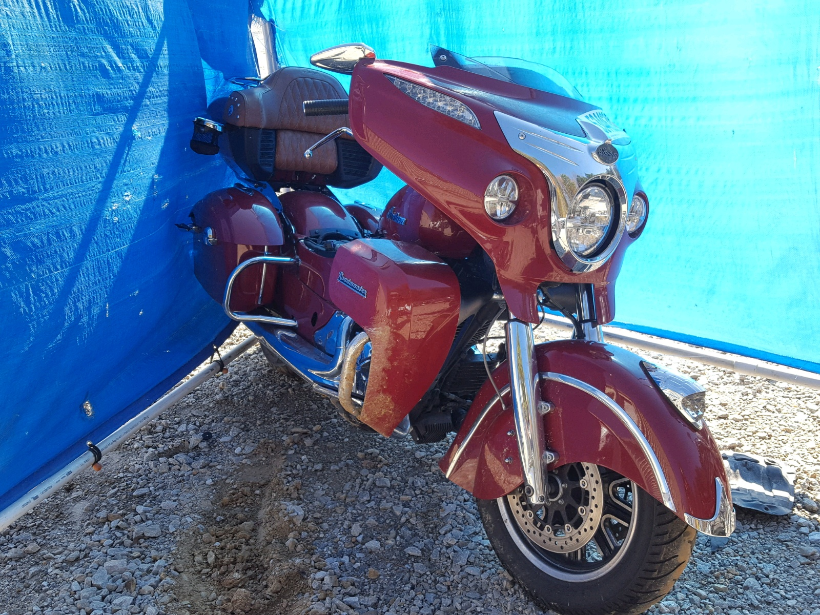 Salvage 2015 Indian Motorcycle Co. ROADMASTER for sale