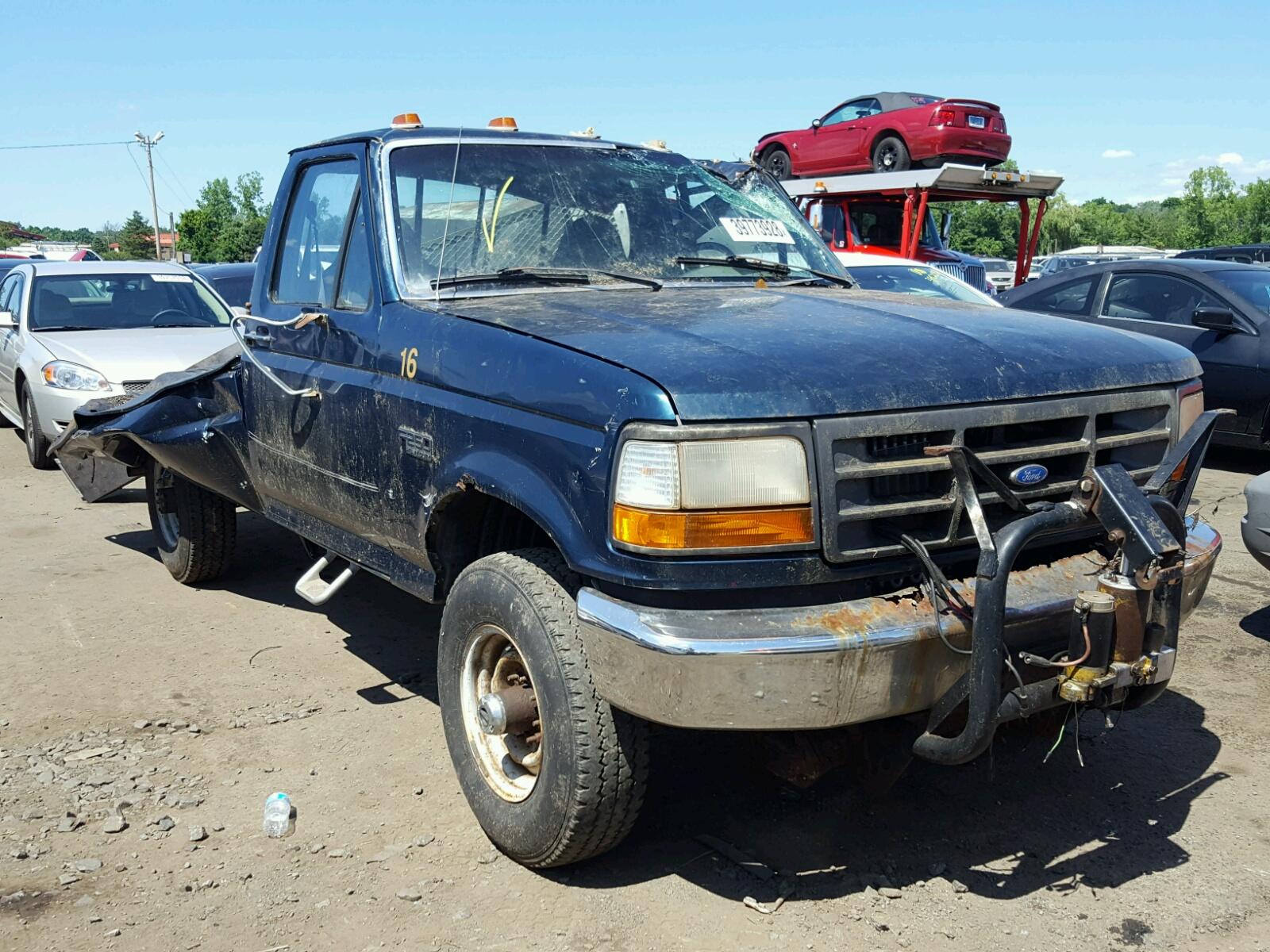 1fthf26h2vea95407 1997 ford f250 5 8l left view 1fthf26h2vea95407