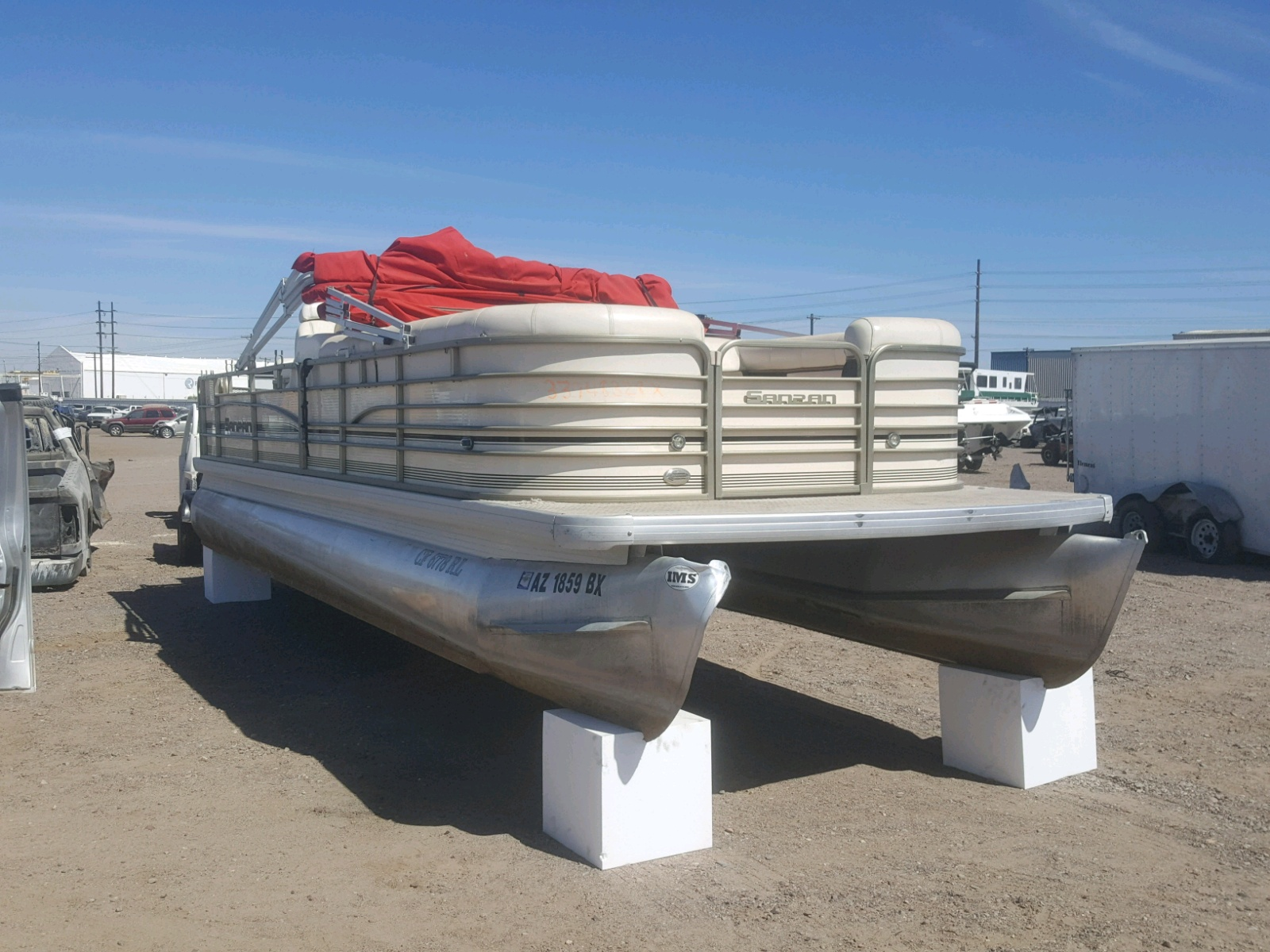 Salvage 2007 Sanp BOAT for sale