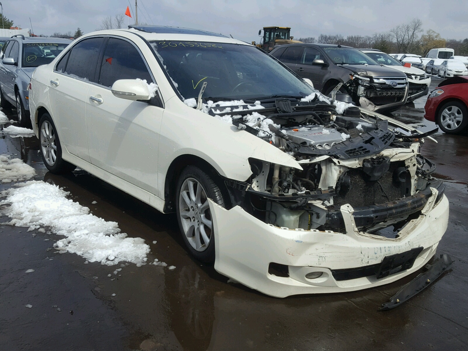JHCLC WHITE ACURA TSX On Sale In CT HARTFORD - Acura tsx for sale in ct